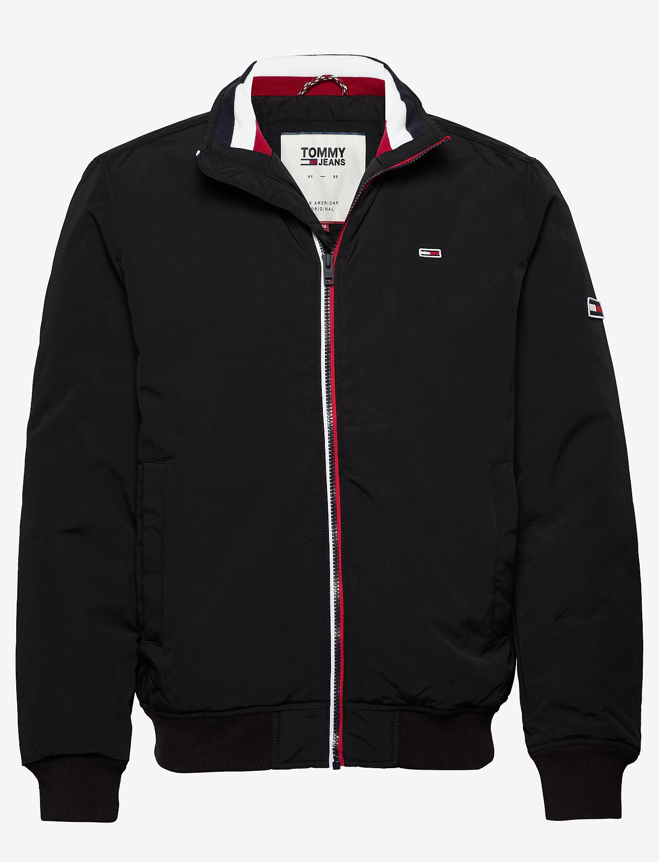 Tommy Jeans - TJM ESSENTIAL PADDED JACKET - kurtki puchowe - black - 0