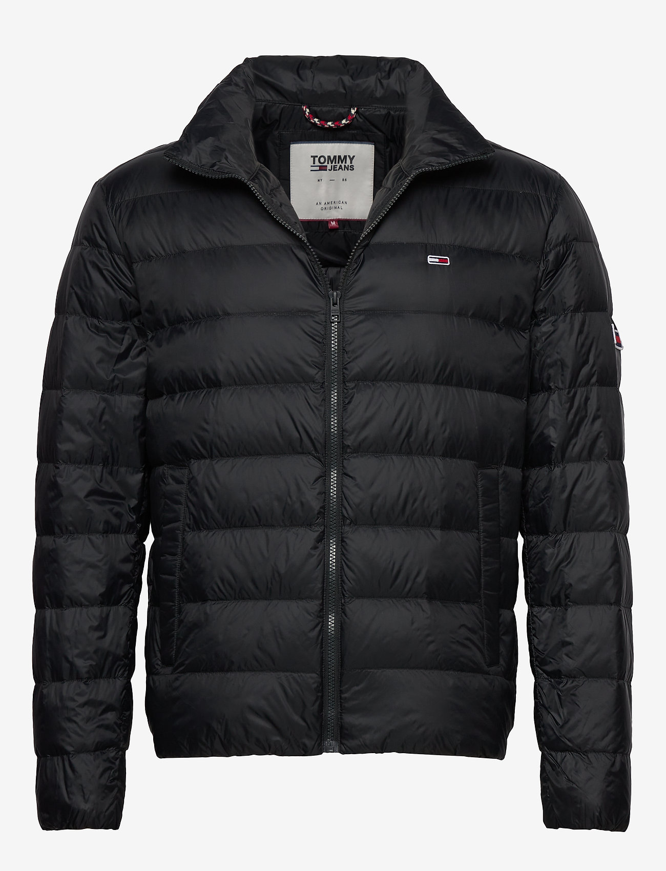 Tommy Jeans - TJM PACKABLE LIGHT DOWN JACKET - padded jackets - black - 0