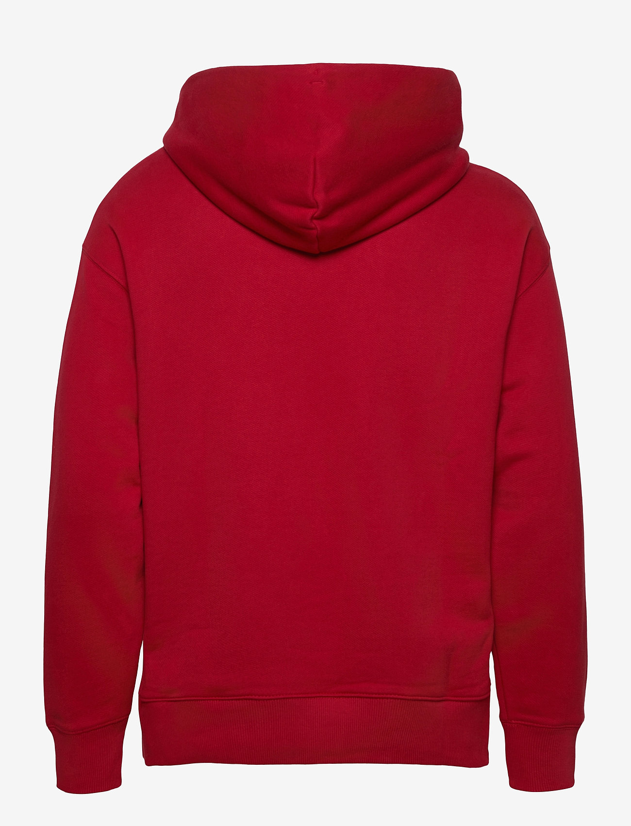 Tommy Jeans - TJM SMALL FLAG HOODIE - hoodies - wine red - 1