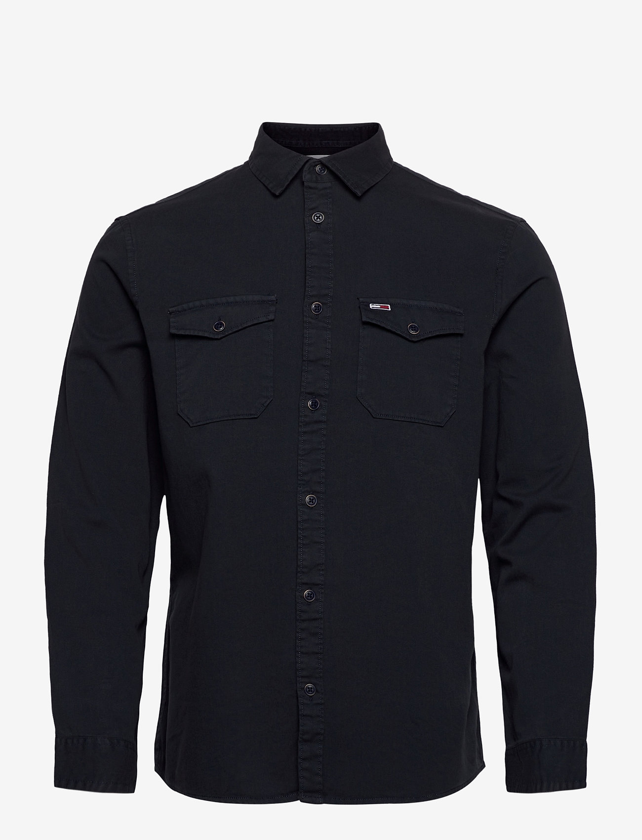 Tommy Jeans - TJM DETAIL TWILL SHIRT - casual shirts - twilight navy - 0