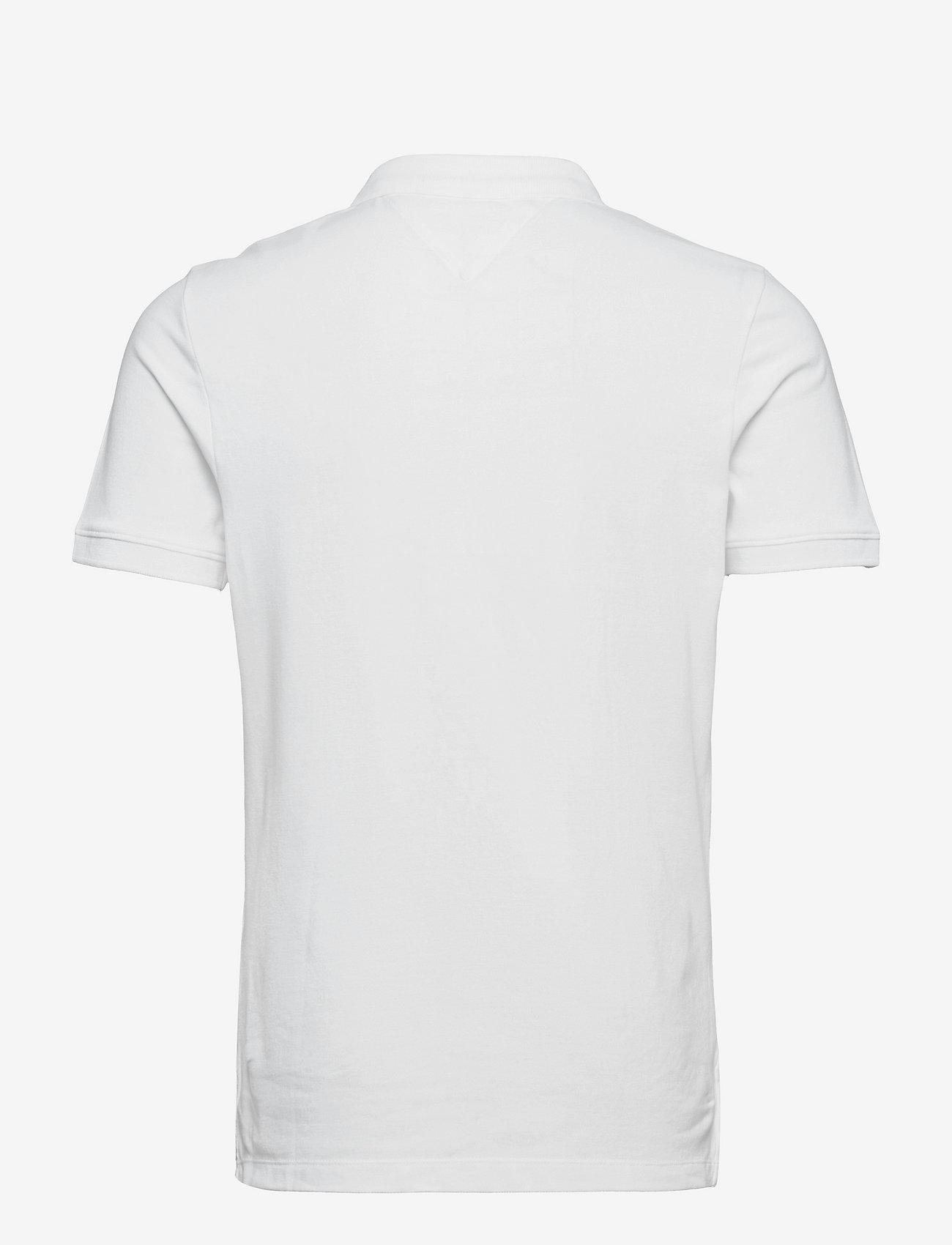 Tommy Jeans - TJM CLASSICS SOLID S - kortärmade pikéer - white - 1