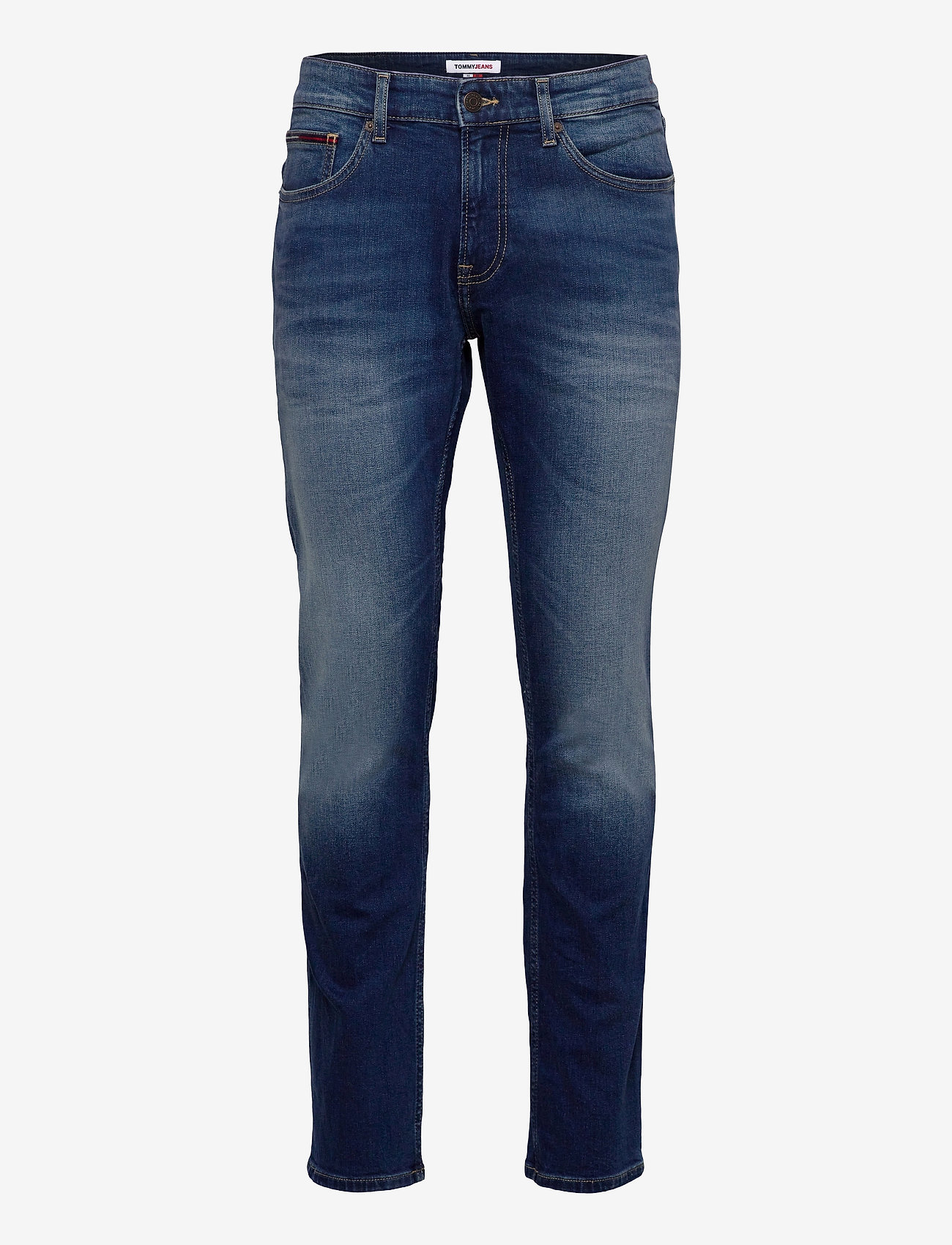 Tommy Jeans - SCANTON SLIM WMBS - slim jeans - wilson mid blue stretch - 0