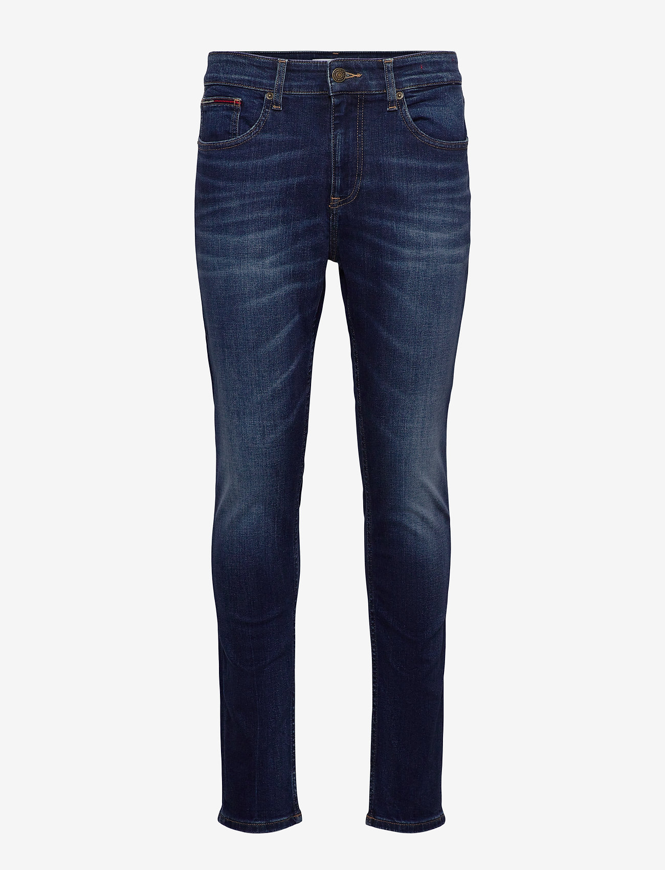 Tommy Jeans - AUSTIN SLIM TAPERED ASDBS - slim jeans - aspen dark blue stretch - 0