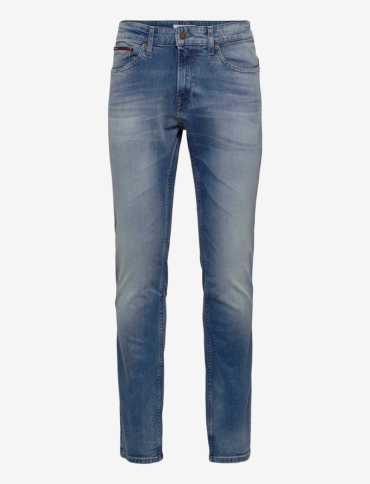 Tommy Jeans - SCANTON SLIM WLBS - slim jeans - wilson light blue stretch - 0