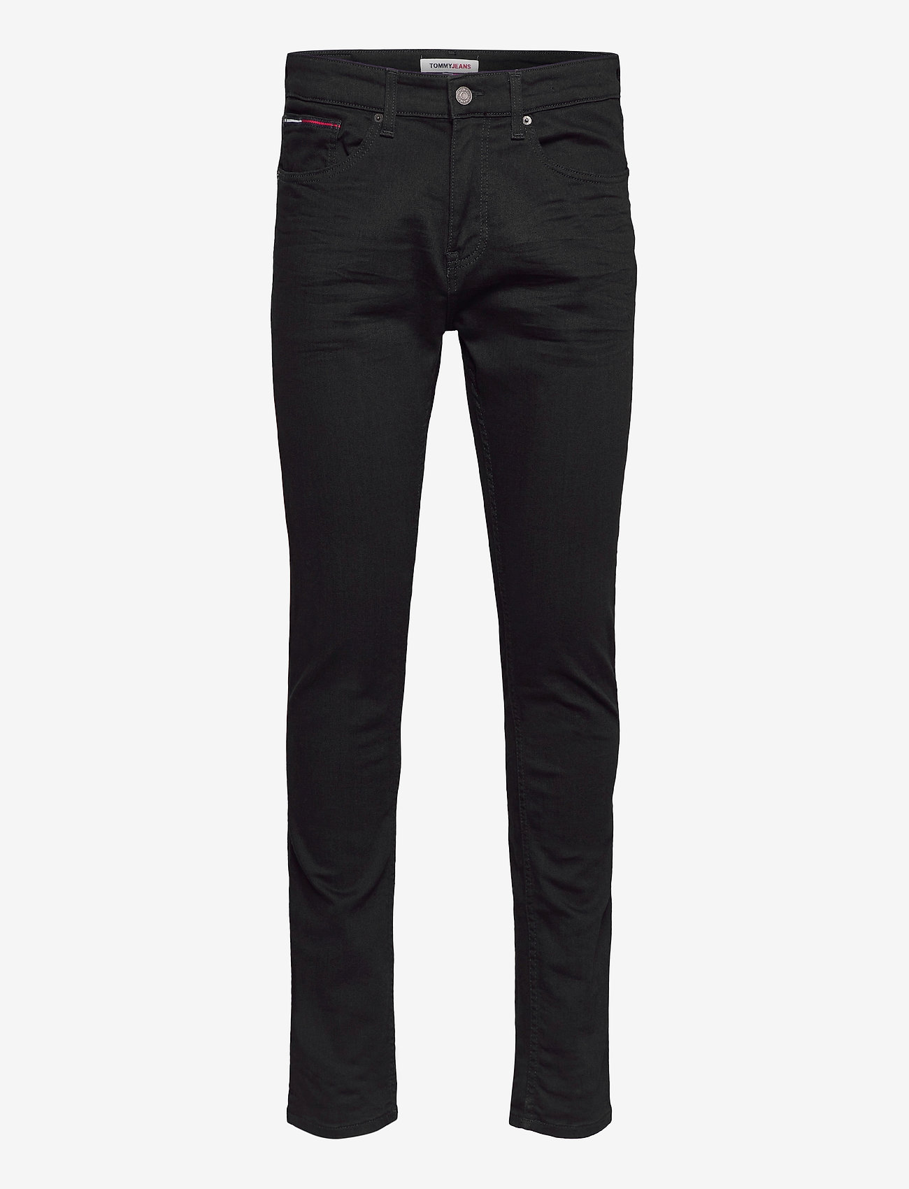 Tommy Jeans - AUSTIN SLIM TAPERED NBKS - slim jeans - new black stretch - 0