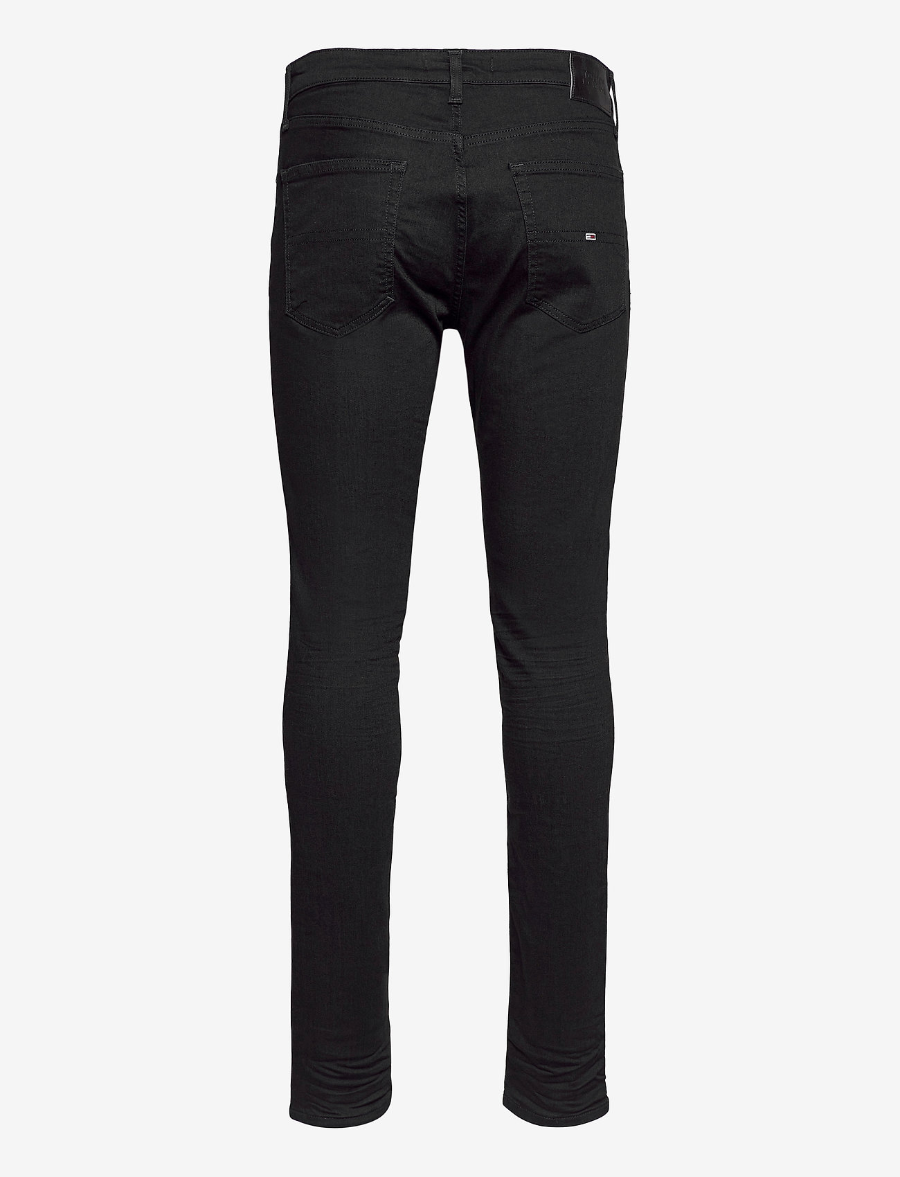 Tommy Jeans - AUSTIN SLIM TAPERED NBKS - slim jeans - new black stretch - 1