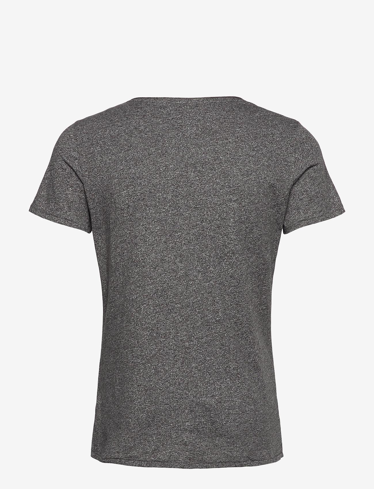 Tommy Jeans - TJM SLIM JASPE V NECK - basic t-shirts - black - 1
