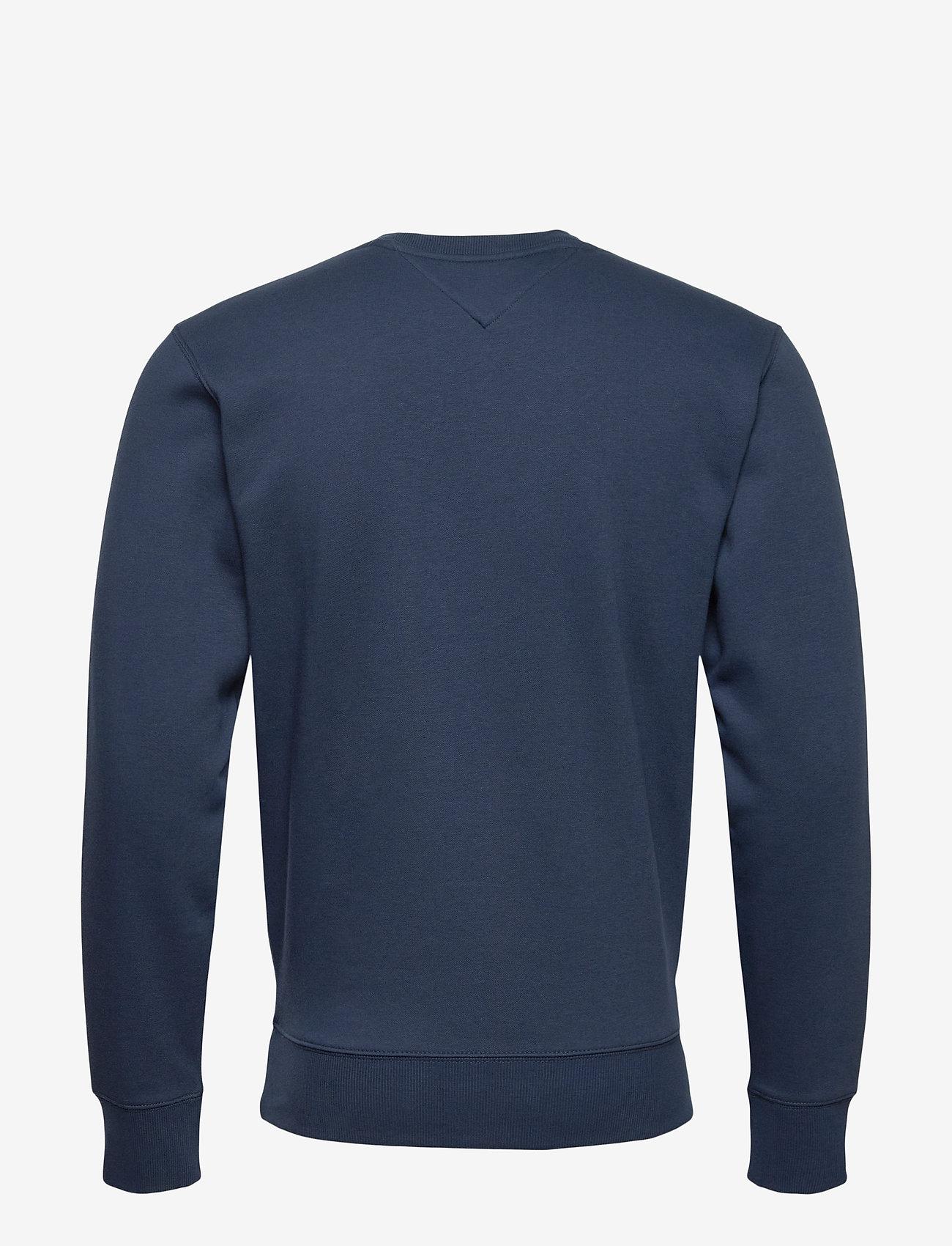 Tommy Jeans - TJM REGULAR FLEECE C NECK - kläder - twilight navy - 1