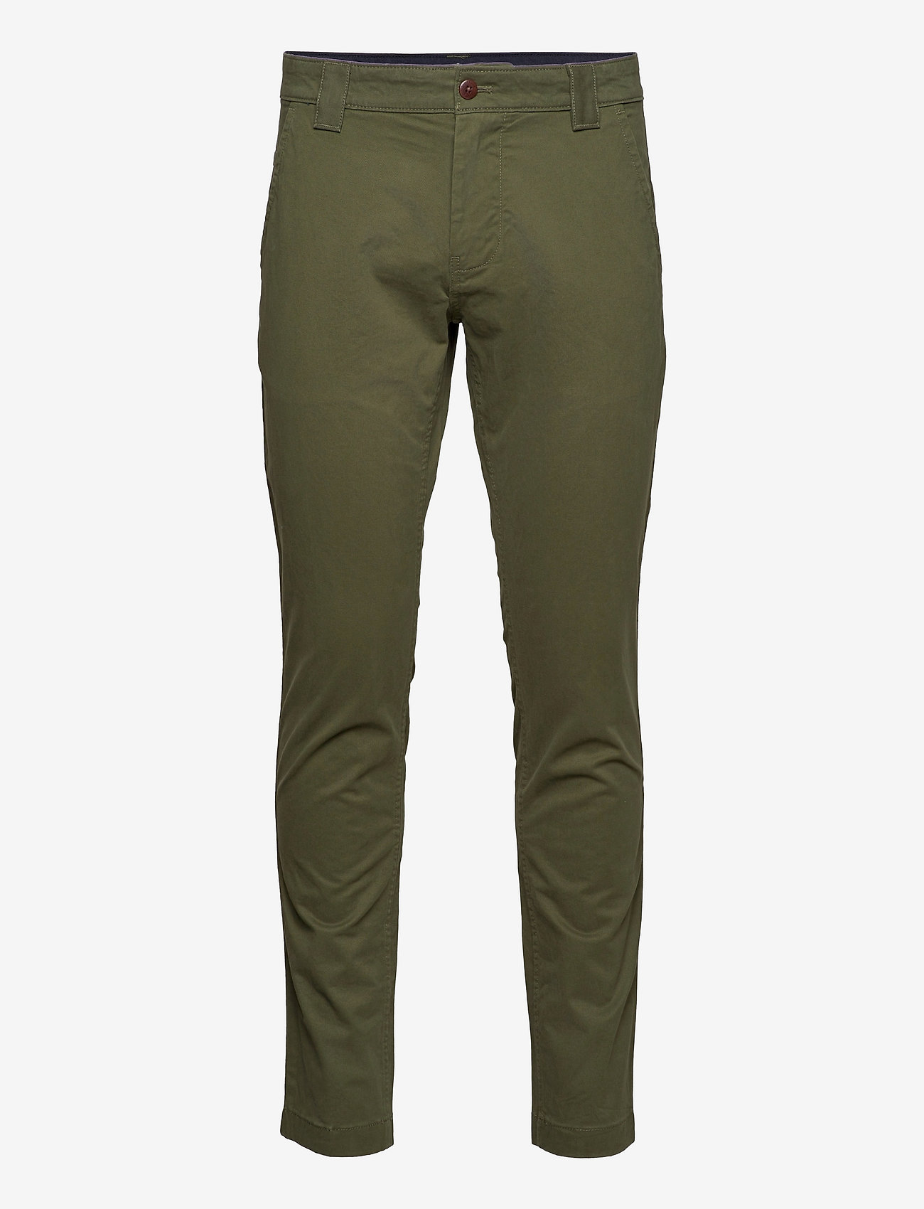 Tommy Jeans - TJM SCANTON CHINO PA - chinos - dark olive - 0