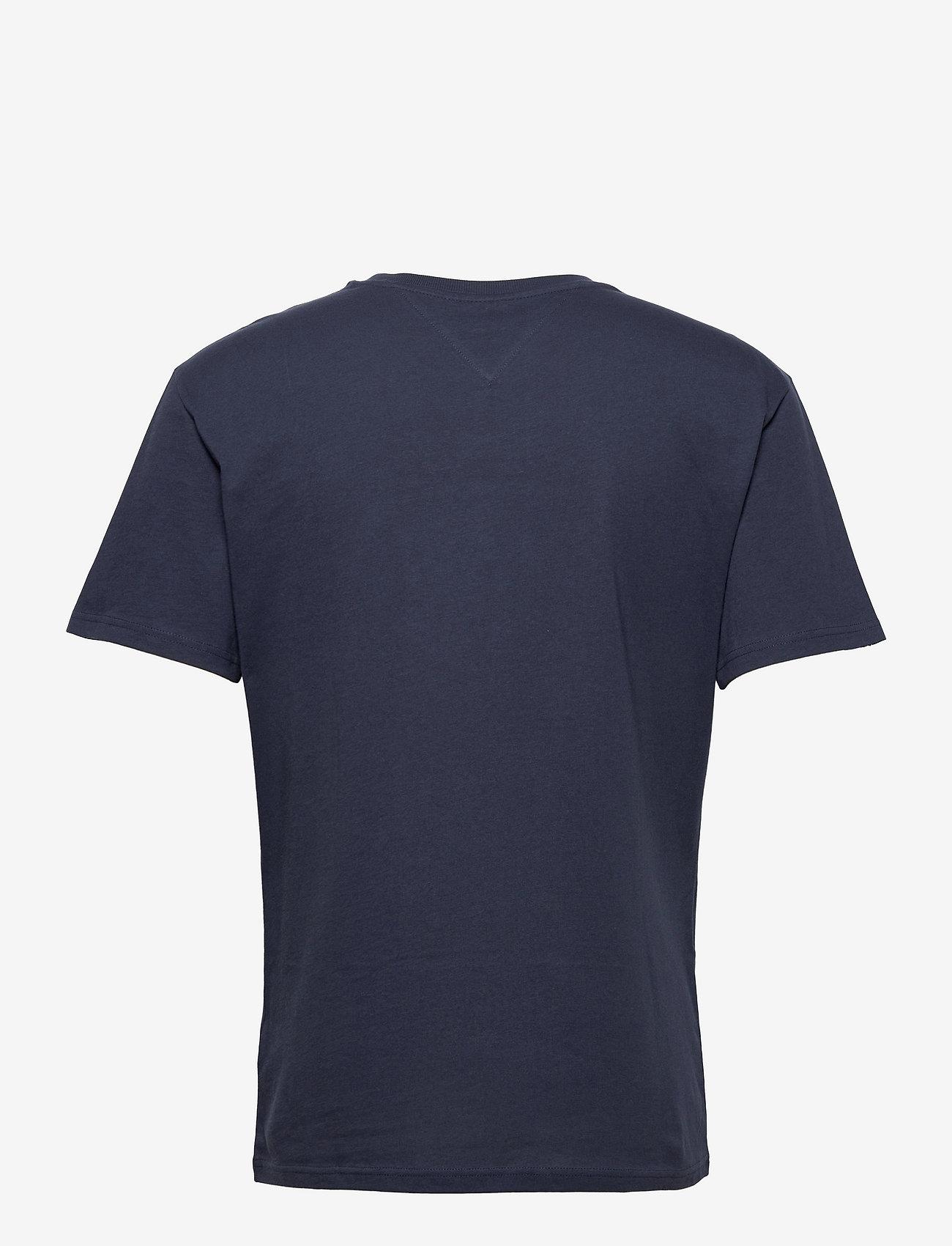 Tommy Jeans - TJM SMALL TEXT TEE - kortärmade t-shirts - twilight navy - 1
