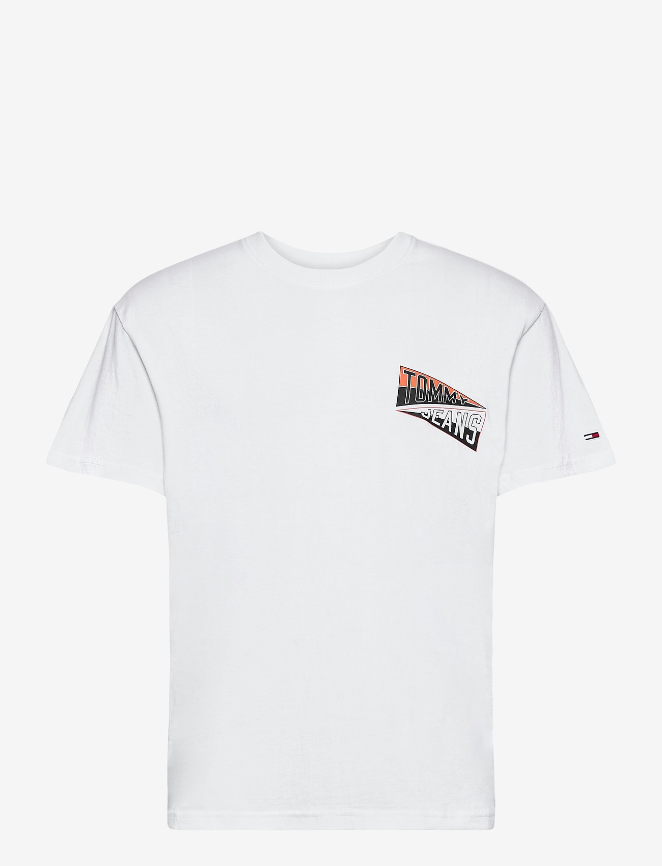 Tommy Jeans - TJM BACK GRAPHIC TEE C - basic t-shirts - white - 0