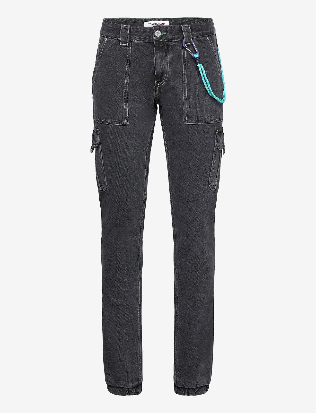 Tommy Jeans - SCANTON CARGO SVBKR - slim jeans - save ps bk rig - 0