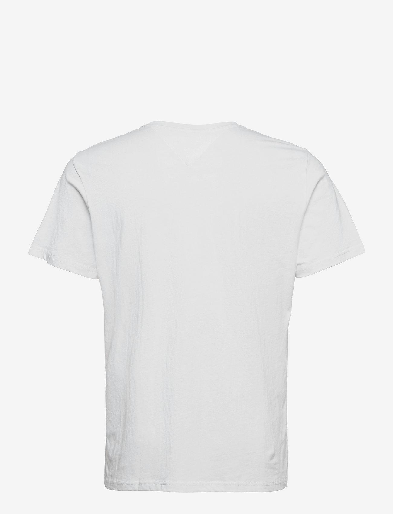 Tommy Jeans - TJM CORP LOGO TEE - kortärmade t-shirts - white - 1