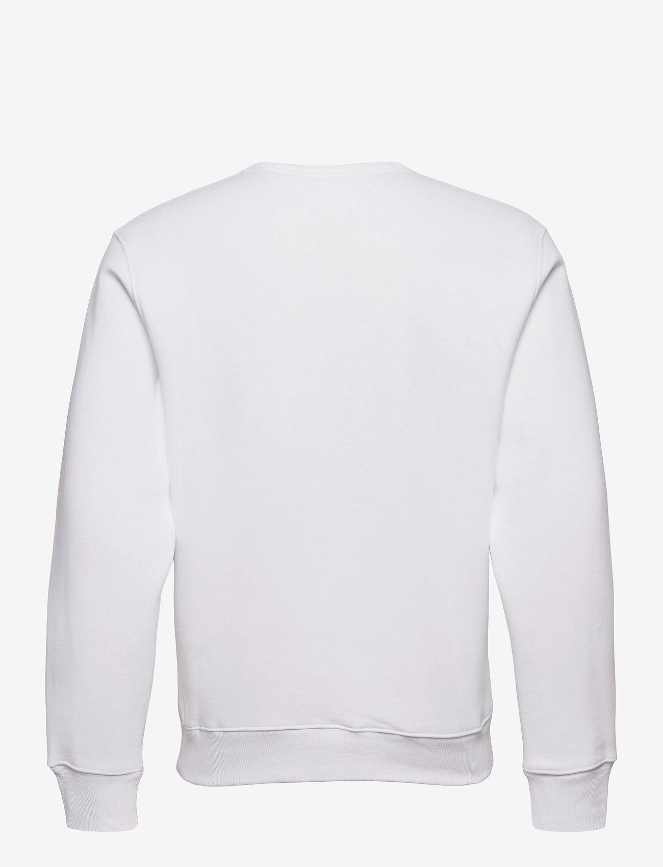 Tommy Jeans - TJM OMBRE CORP LOGO CREW - kläder - white - 1