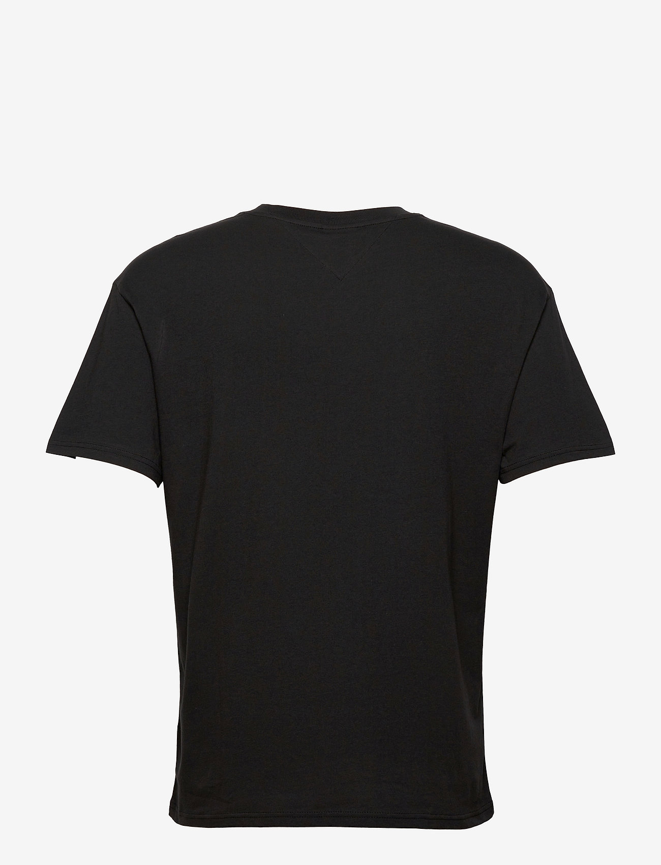 Tommy Jeans - TJM FADED COLOR GRAPHIC TEE - kortärmade t-shirts - black - 1