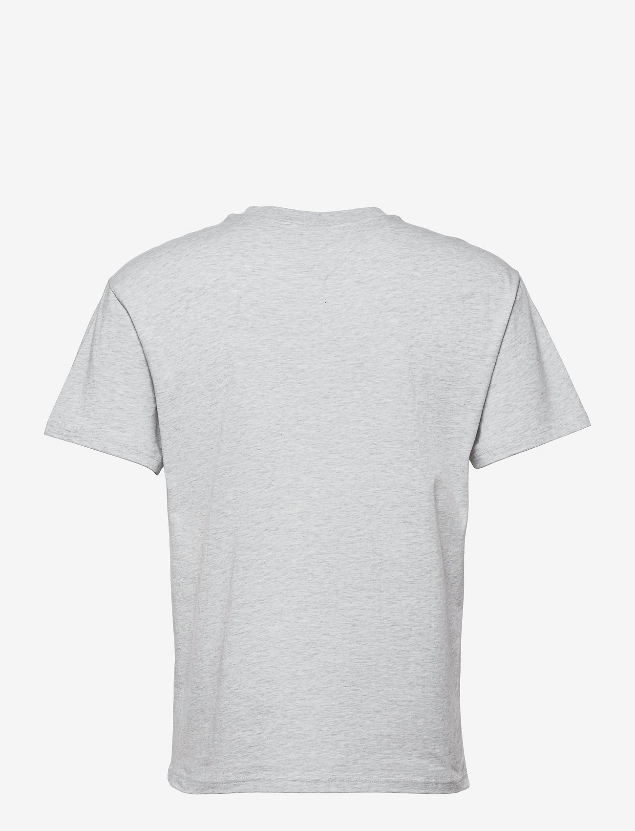 Tommy Jeans - TJM FADED COLOR GRAPHIC TEE - kortärmade t-shirts - silver grey htr - 1