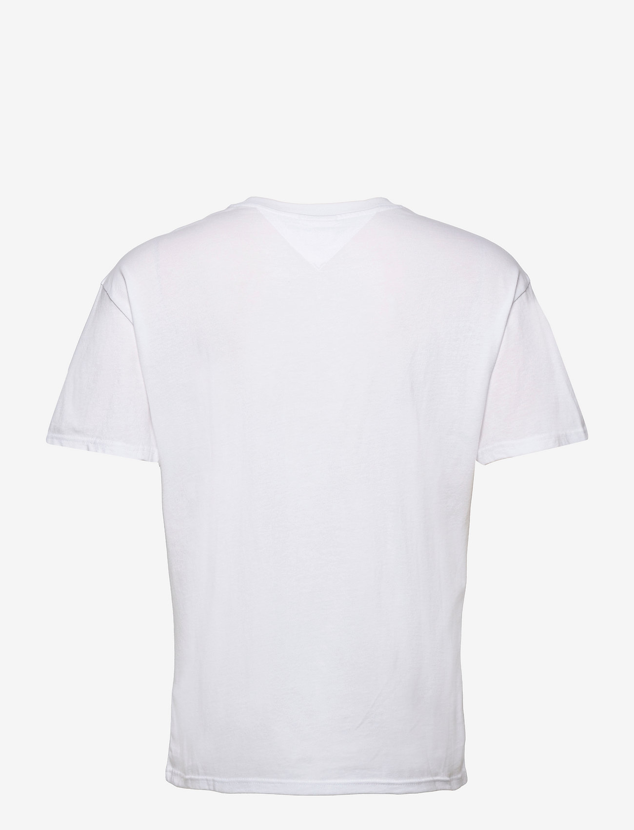 Tommy Jeans - TJM FADED COLOR GRAPHIC TEE - kortärmade t-shirts - white - 1