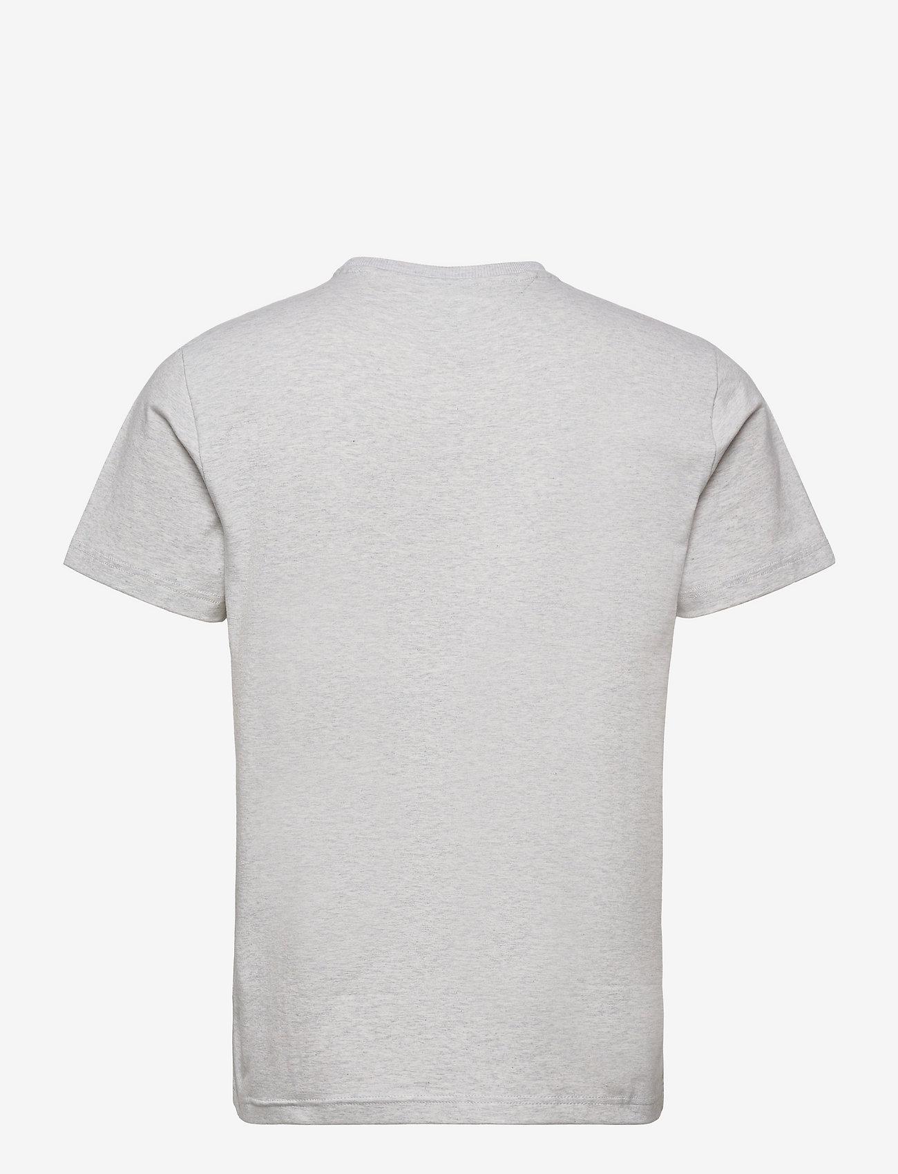 Tommy Jeans - TJM COLOR CORP LOGO TEE - kortärmade t-shirts - silver grey htr - 1