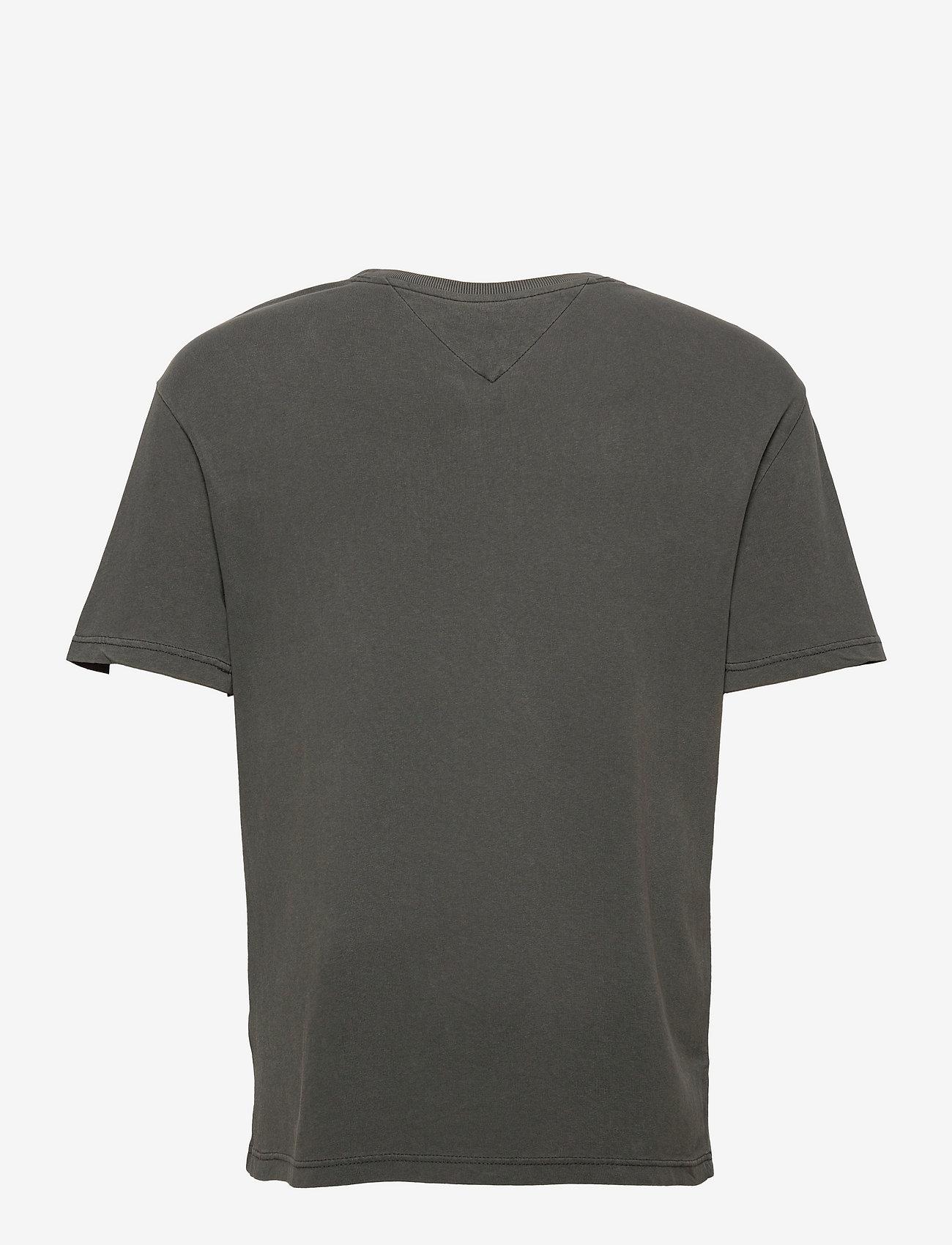 Tommy Jeans - TJM TONAL FLAG TEE - t-shirts à manches courtes - black - 1