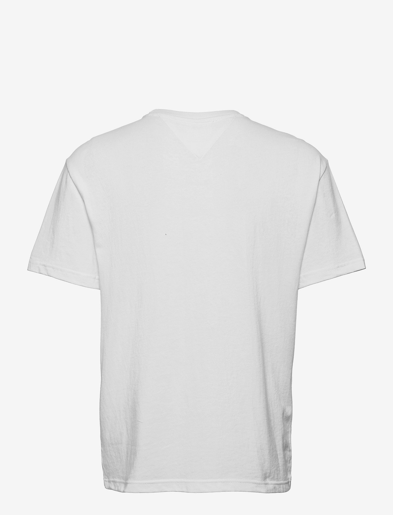 Tommy Jeans - TJM TONAL FLAG TEE - kortärmade t-shirts - white - 1