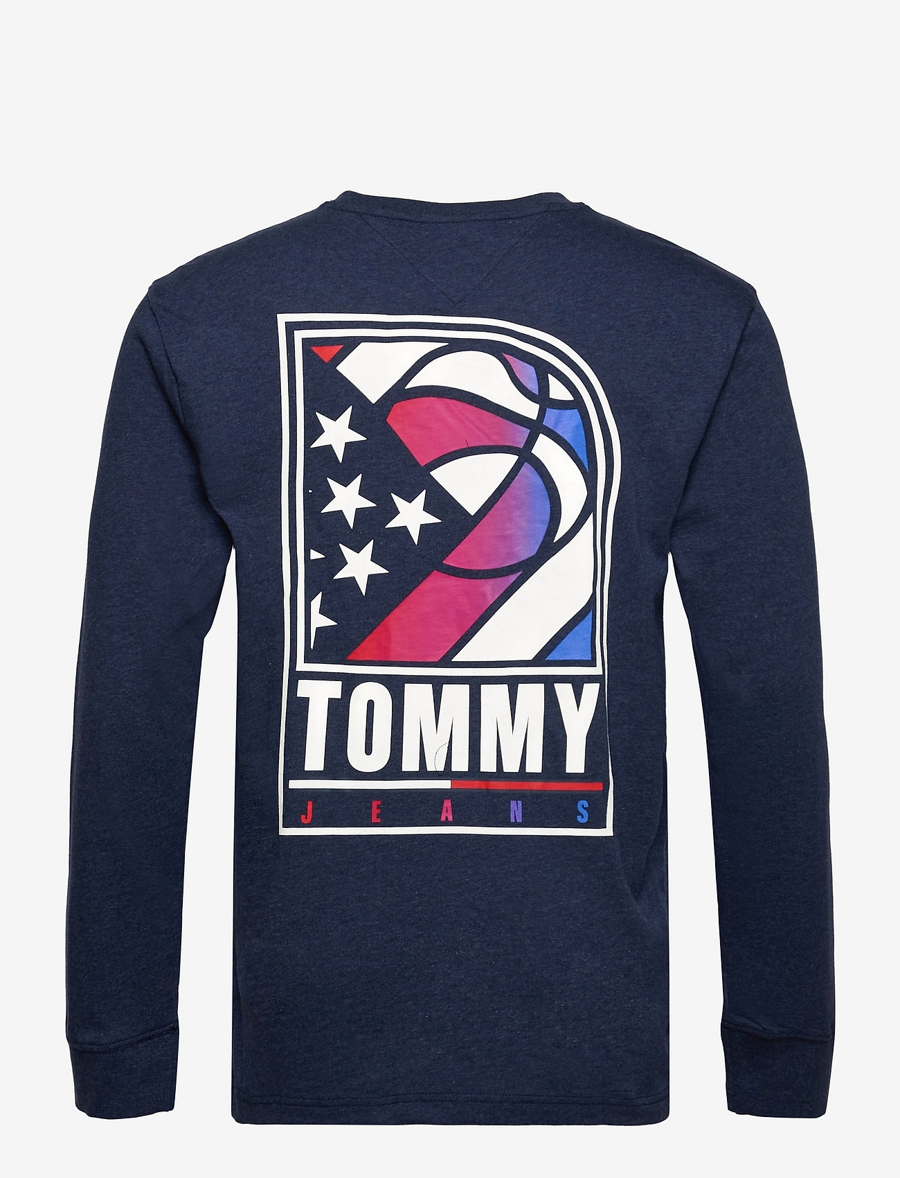 Tommy Jeans - TJM TOMMY BASKETBALL LONGSLEEVE - basic t-shirts - twilight navy - 1
