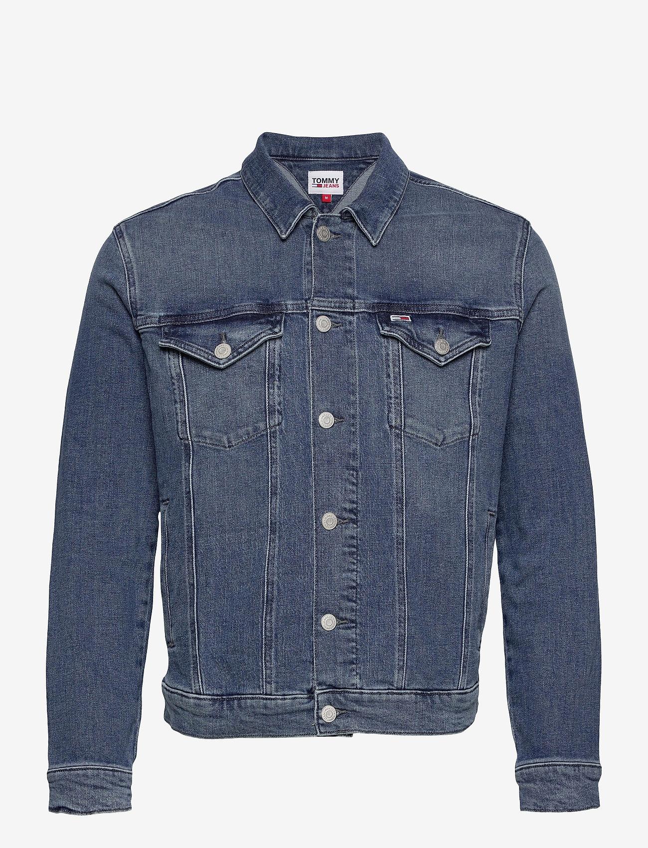 Tommy Jeans - REGULAR TRUCKER JACKET LMBC - jeansjackor - lincoln mb com - 0