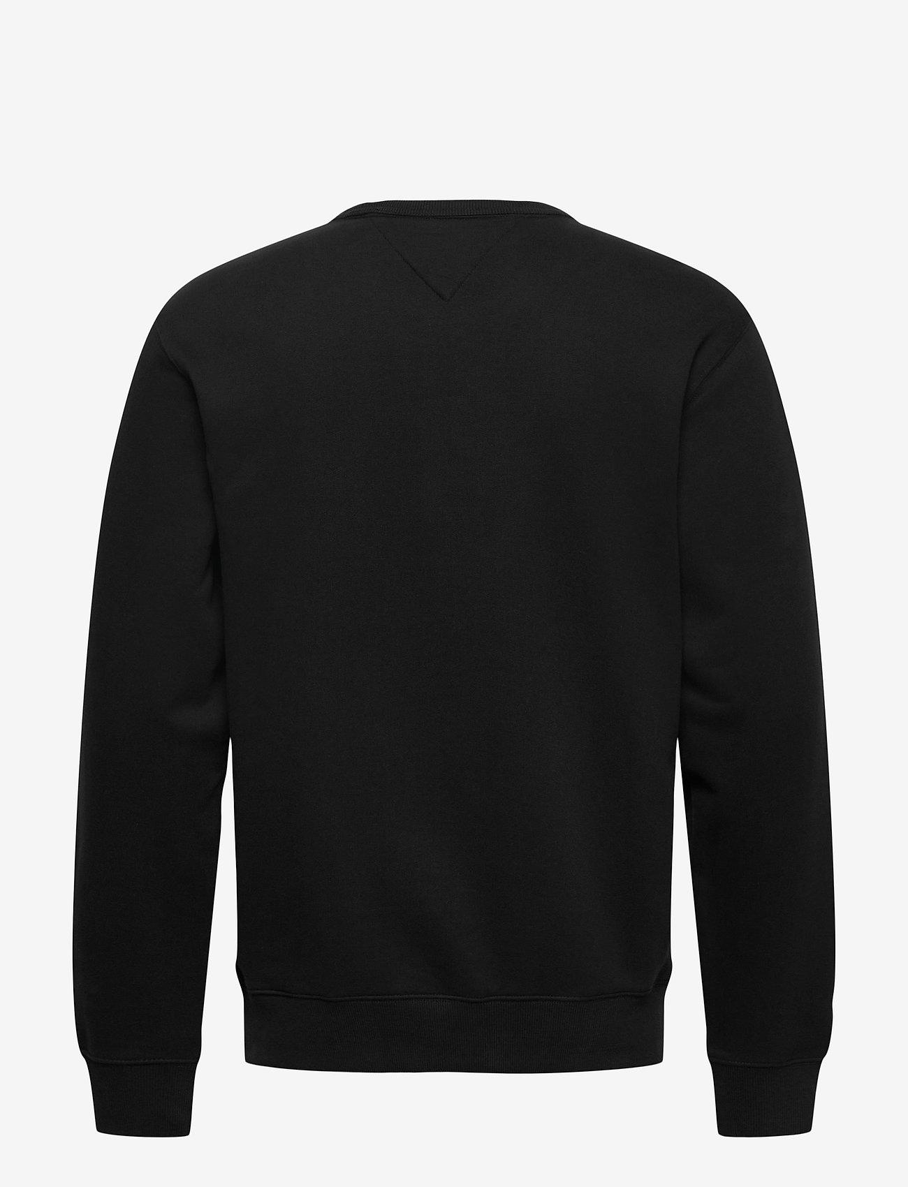 Tommy Jeans - TJM TIMELESS TOMMY CREW 2 C - kläder - black - 1