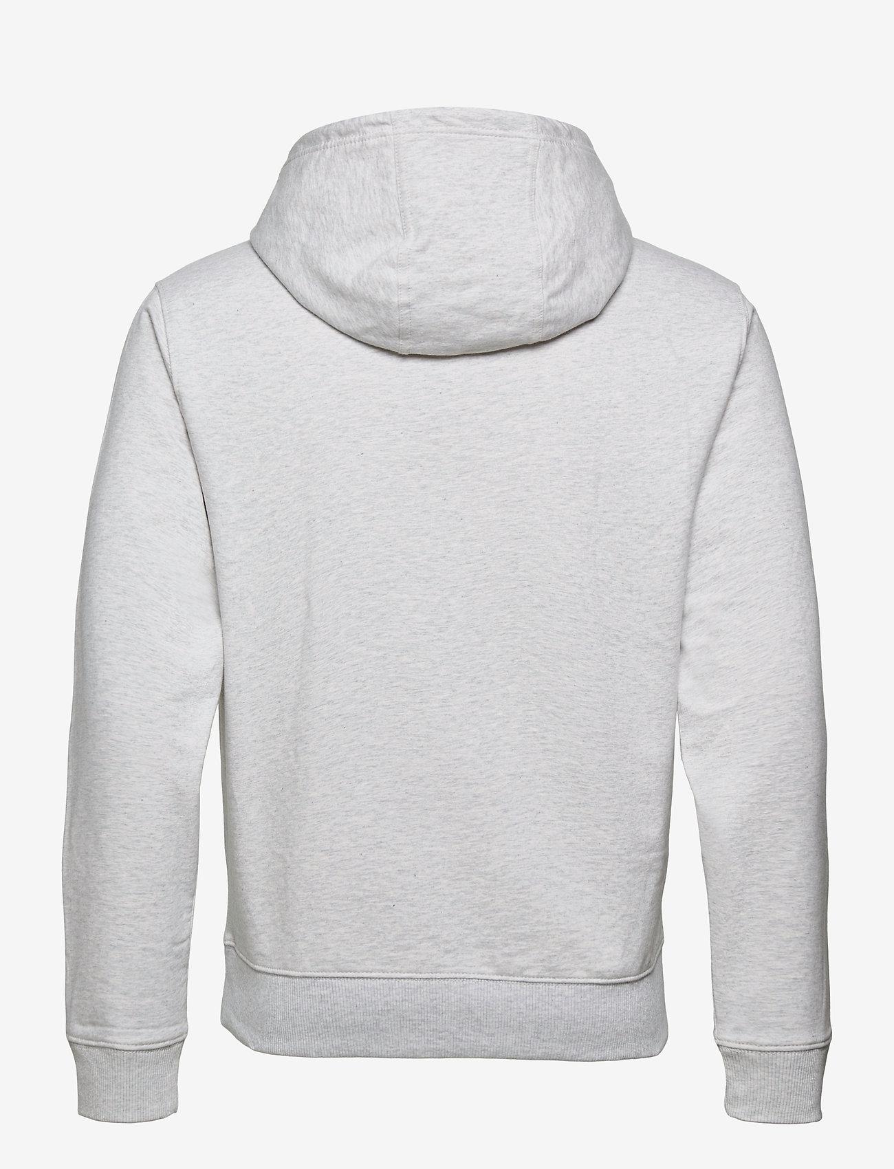 Tommy Jeans - TJM LIGHTWEIGHT TOMMY HOODIE - hoodies - silver grey htr - 1