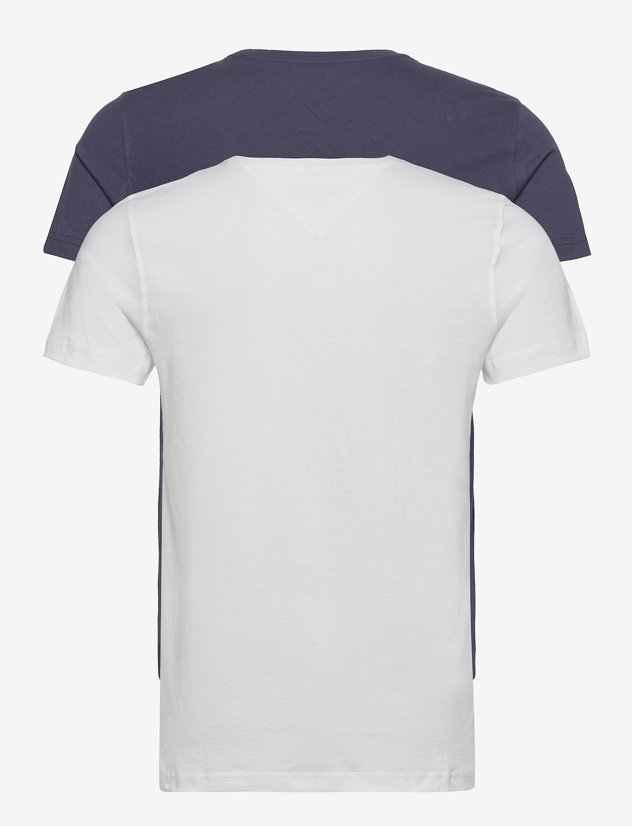 Tommy Jeans - TJM 2PACK CNECK TEES - basic t-shirts - white / navy - 1