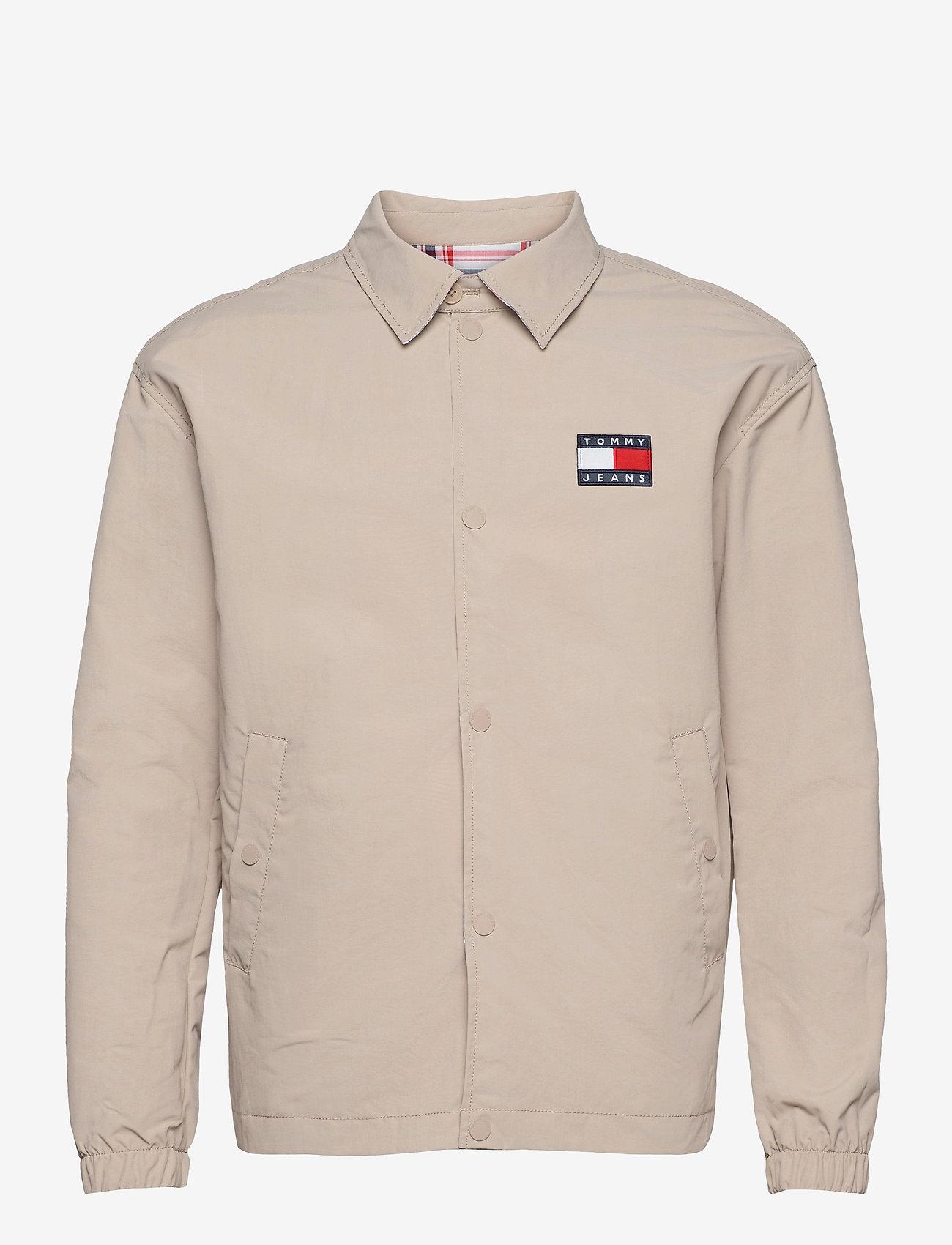 Tommy Jeans - TJM REVERSIBLE CHECK JKT - vestes légères - soft beige - 2