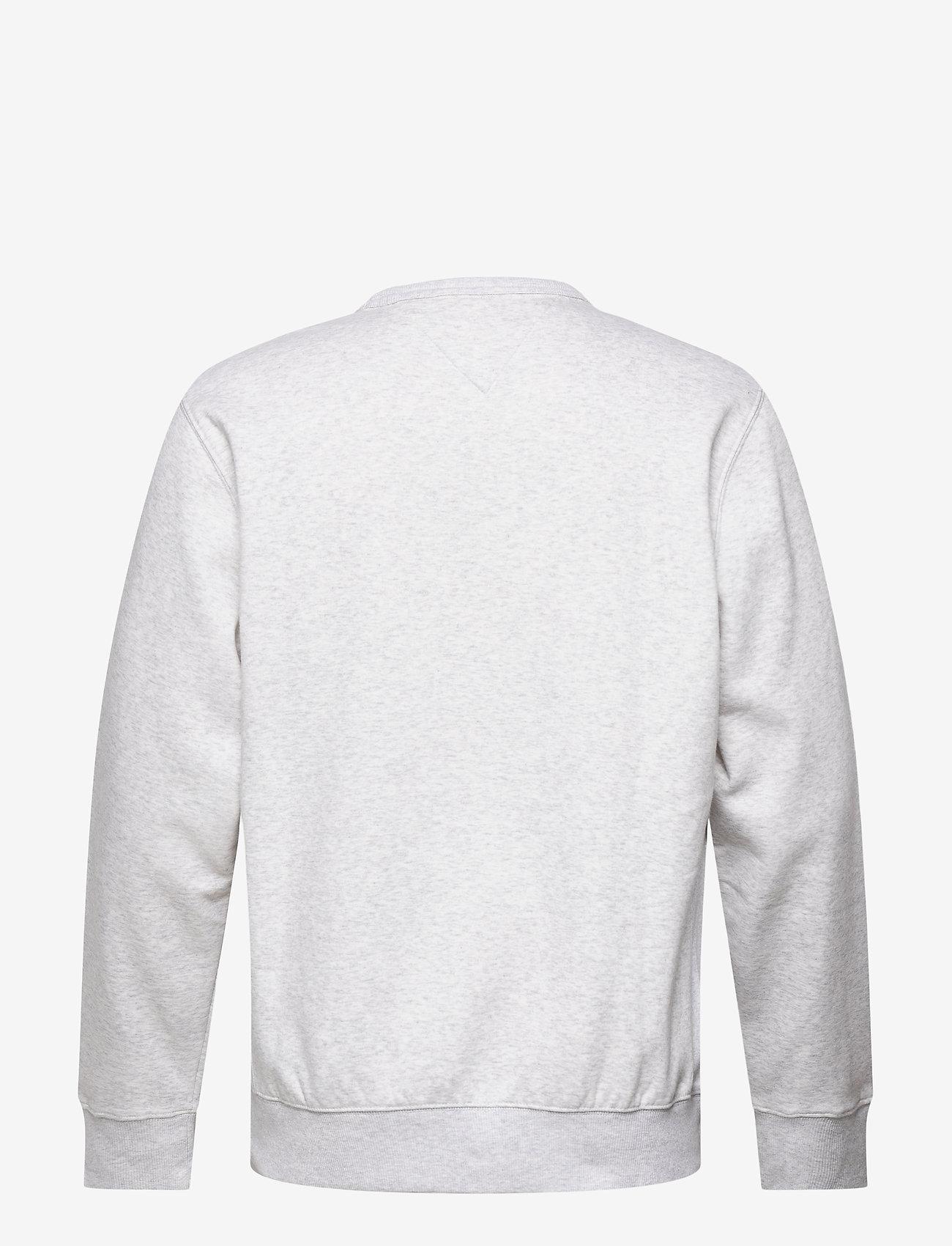 Tommy Jeans - TJM TIMELESS TOMMY CREW 1 C - kläder - silver grey htr - 1