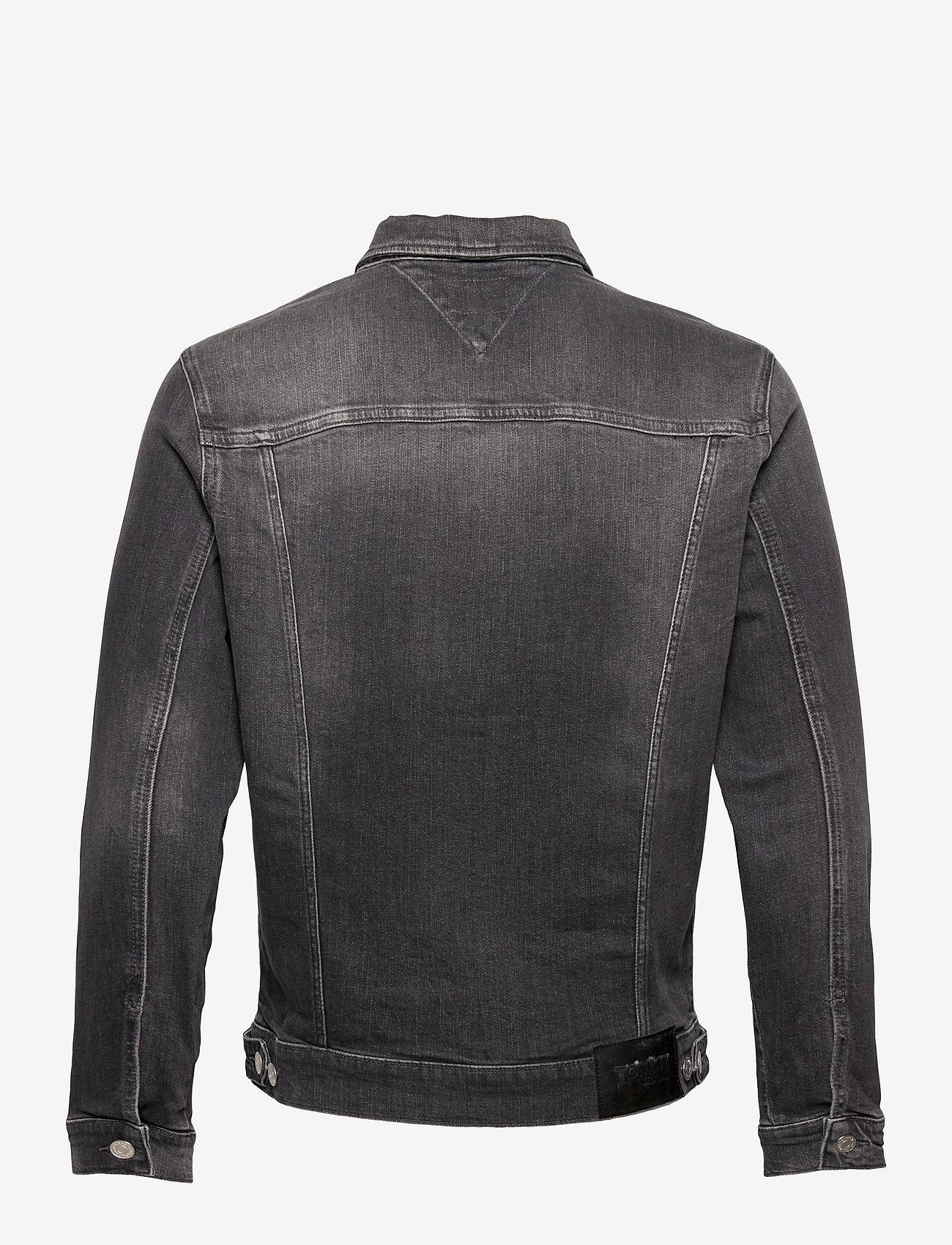 Tommy Jeans - REGULAR TRUCKER JACKET AE188 GRS - jeansjackor - denim medium - 1