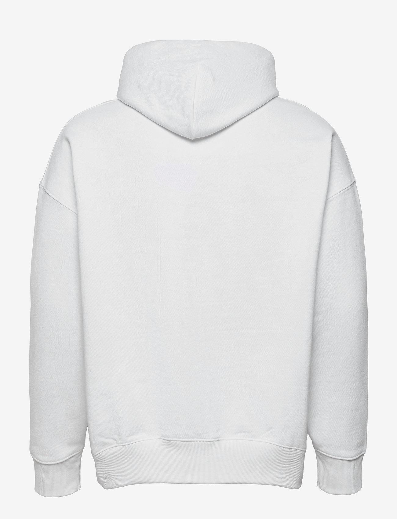 Tommy Jeans - TJM TOMMY BADGE HOODIE - hoodies - white - 1