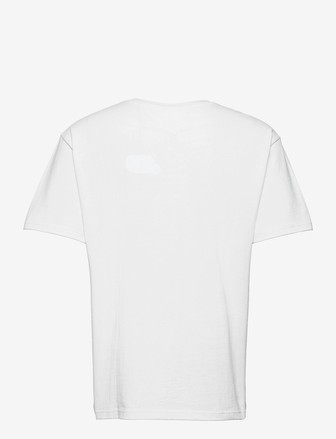Tommy Jeans - TJM TOMMY BADGE TEE - kortärmade t-shirts - white - 1