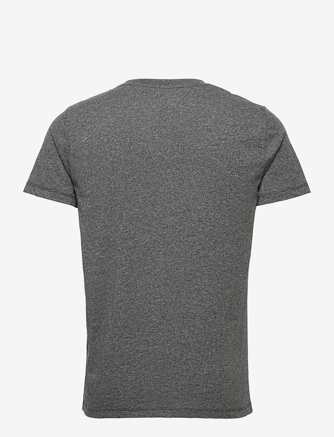 Tommy Jeans - TJM SLIM C NECK TEE - basic t-shirts - black - 1