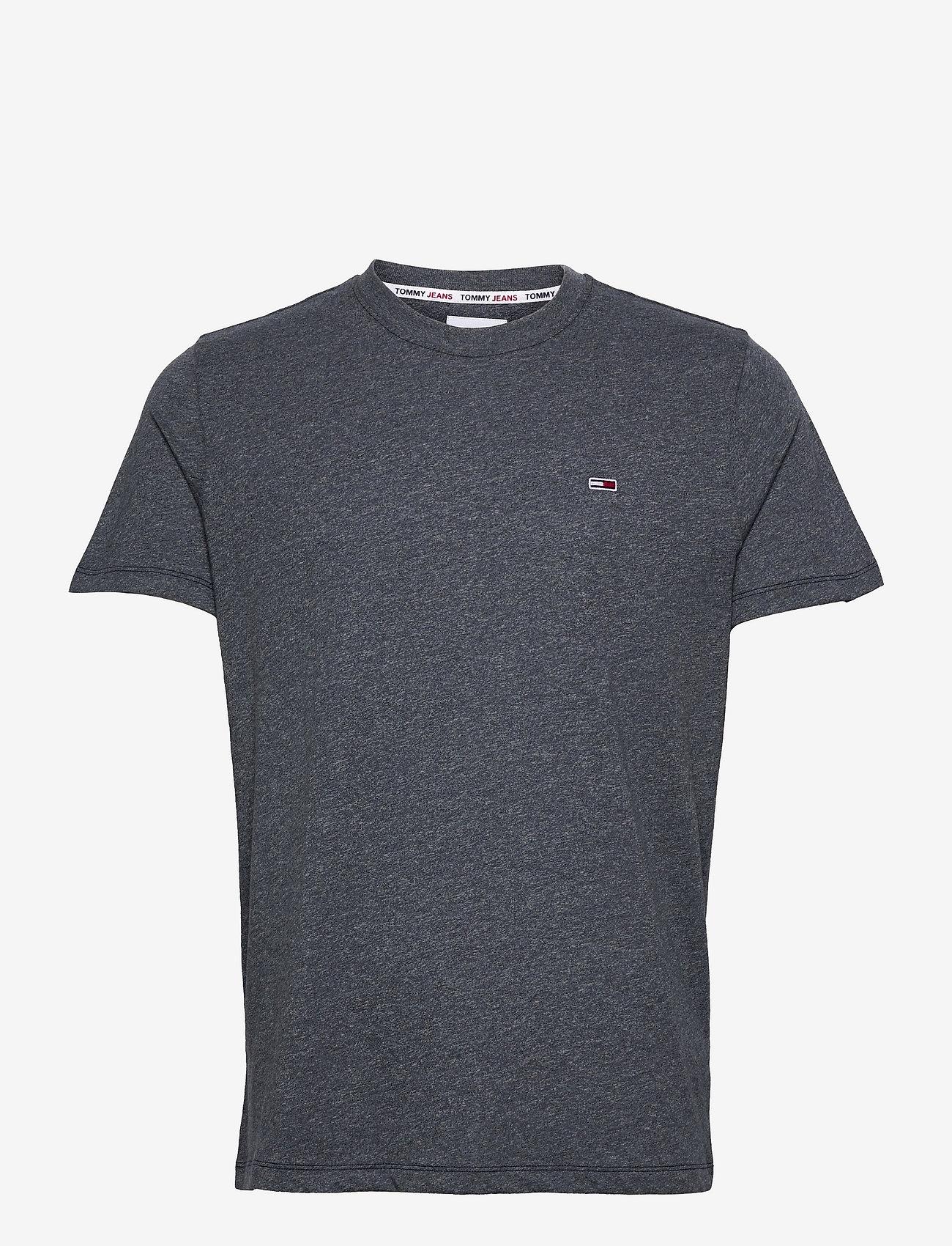 Tommy Jeans - TJM SLIM C NECK TEE - basic t-shirts - twilight navy - 0