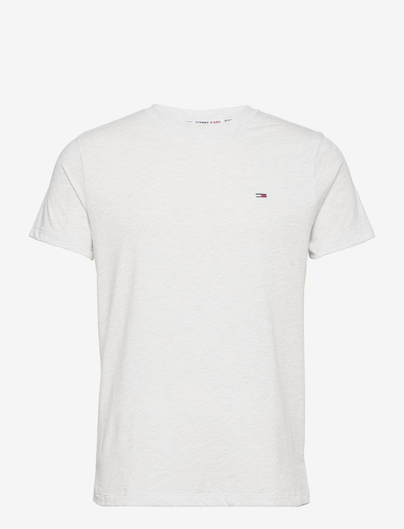 Tommy Jeans - TJM SLIM C NECK TEE - basic t-shirts - white - 0