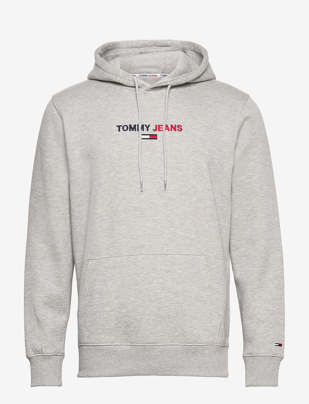 Tommy Jeans - TJM LINEAR LOGO HOODIE - light grey heather - 0