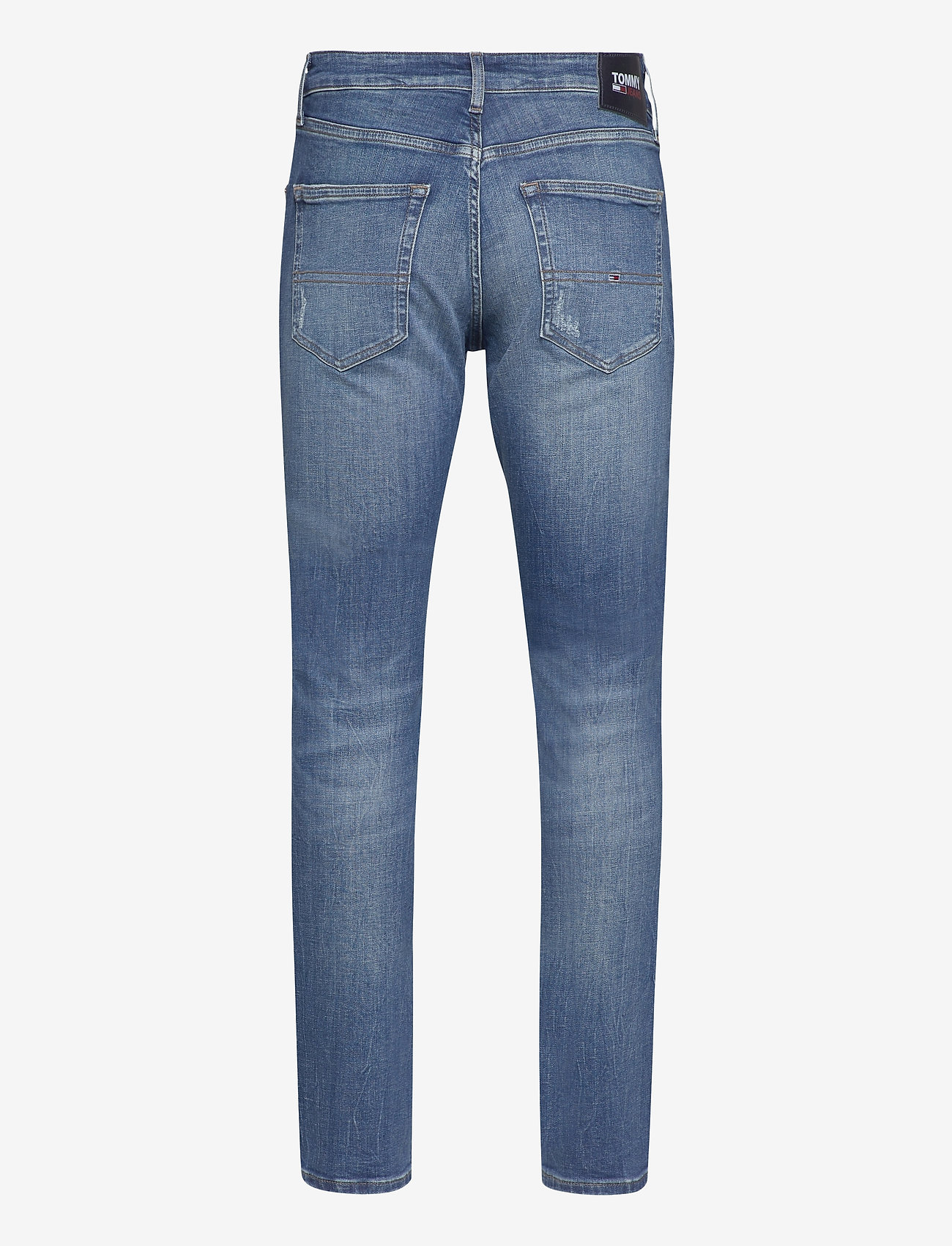 Tommy Jeans - SCANTON CE 132 MID BLUE STRETCH - slim jeans - mid blue - 1