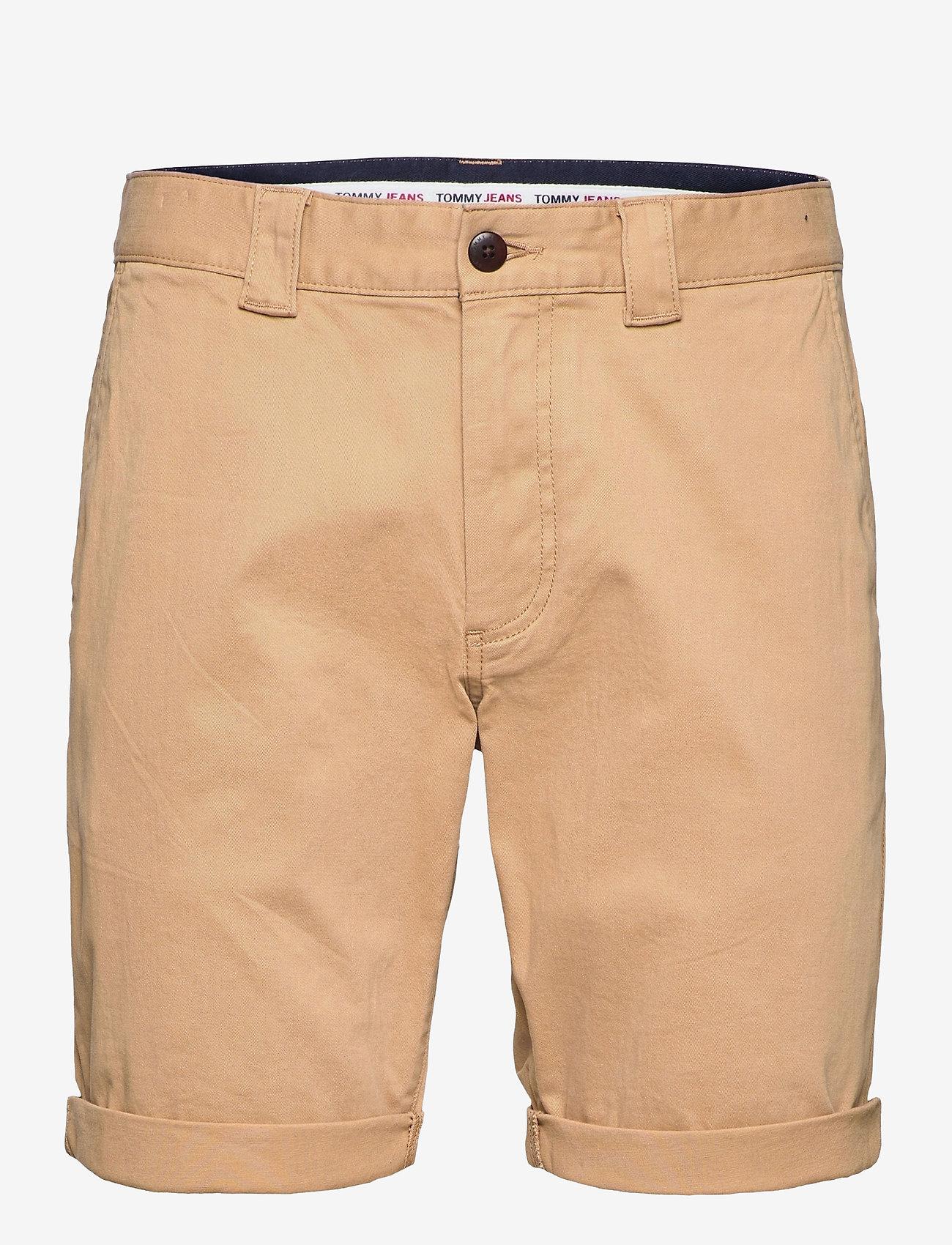 Tommy Jeans - TJM SCANTON CHINO SHORT - chinos shorts - classic khaki - 0