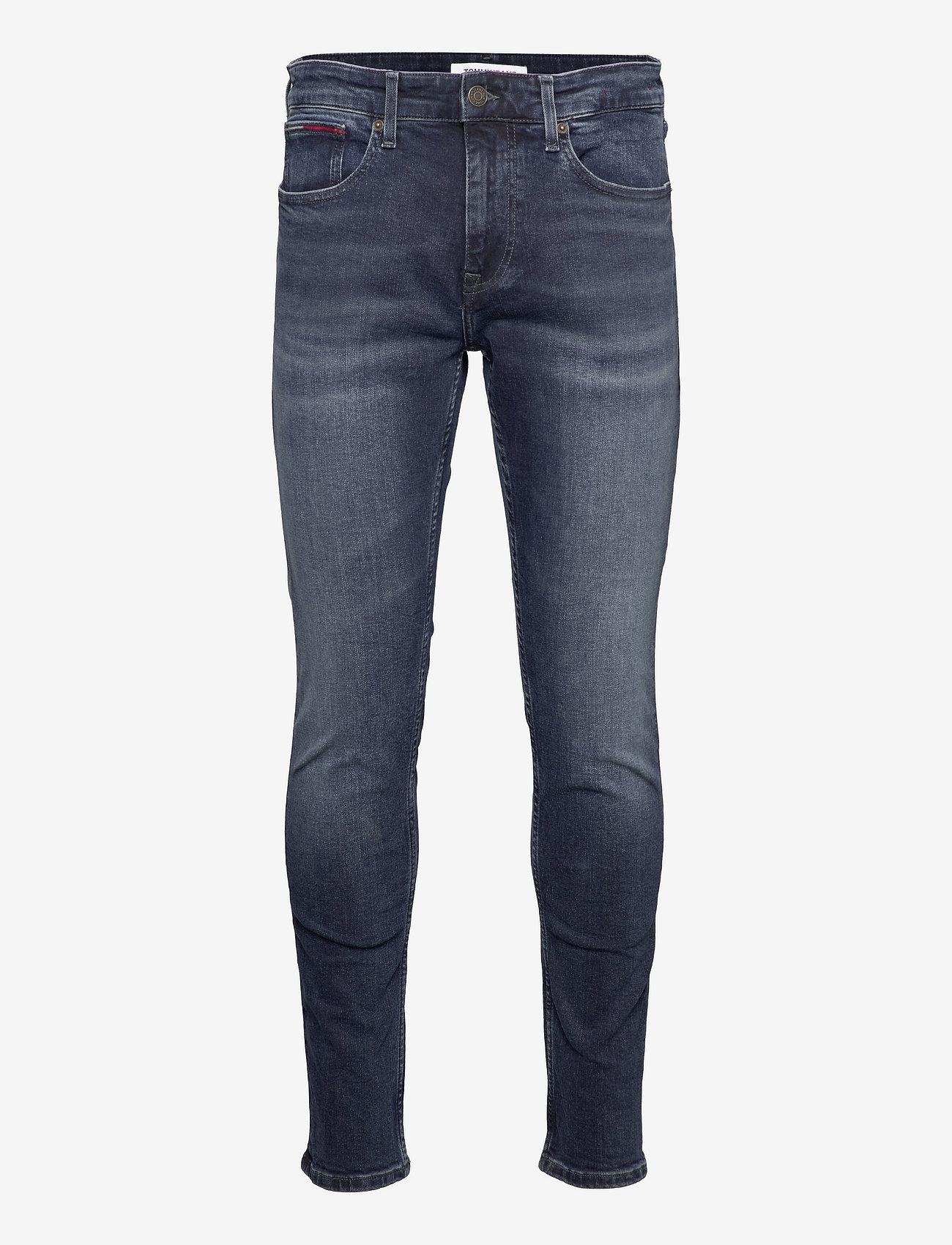 Tommy Jeans - AUSTIN SLIM TPRD BE165 BBKS - slim jeans - denim dark - 0