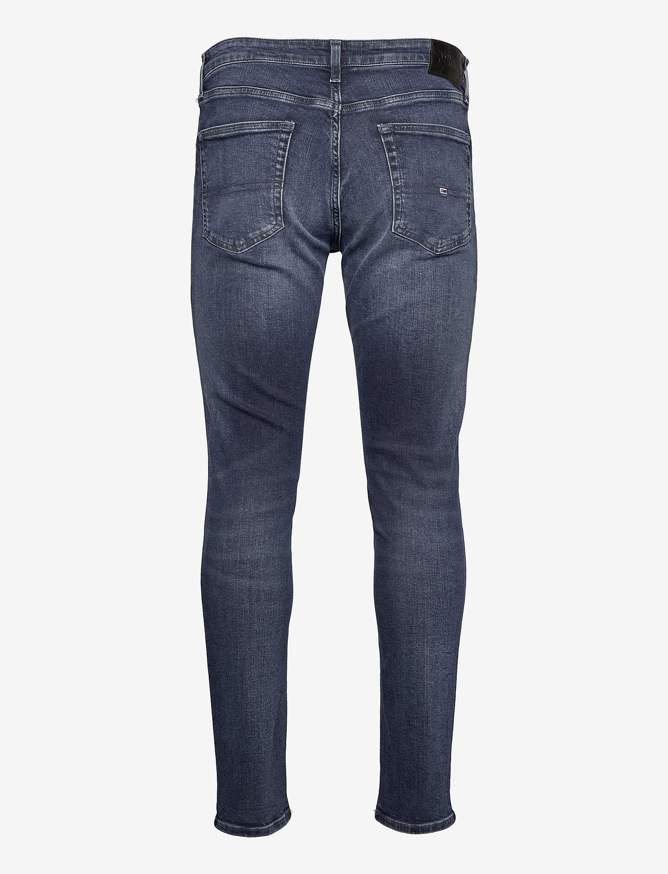 Tommy Jeans - AUSTIN SLIM TPRD BE165 BBKS - slim jeans - denim dark - 1