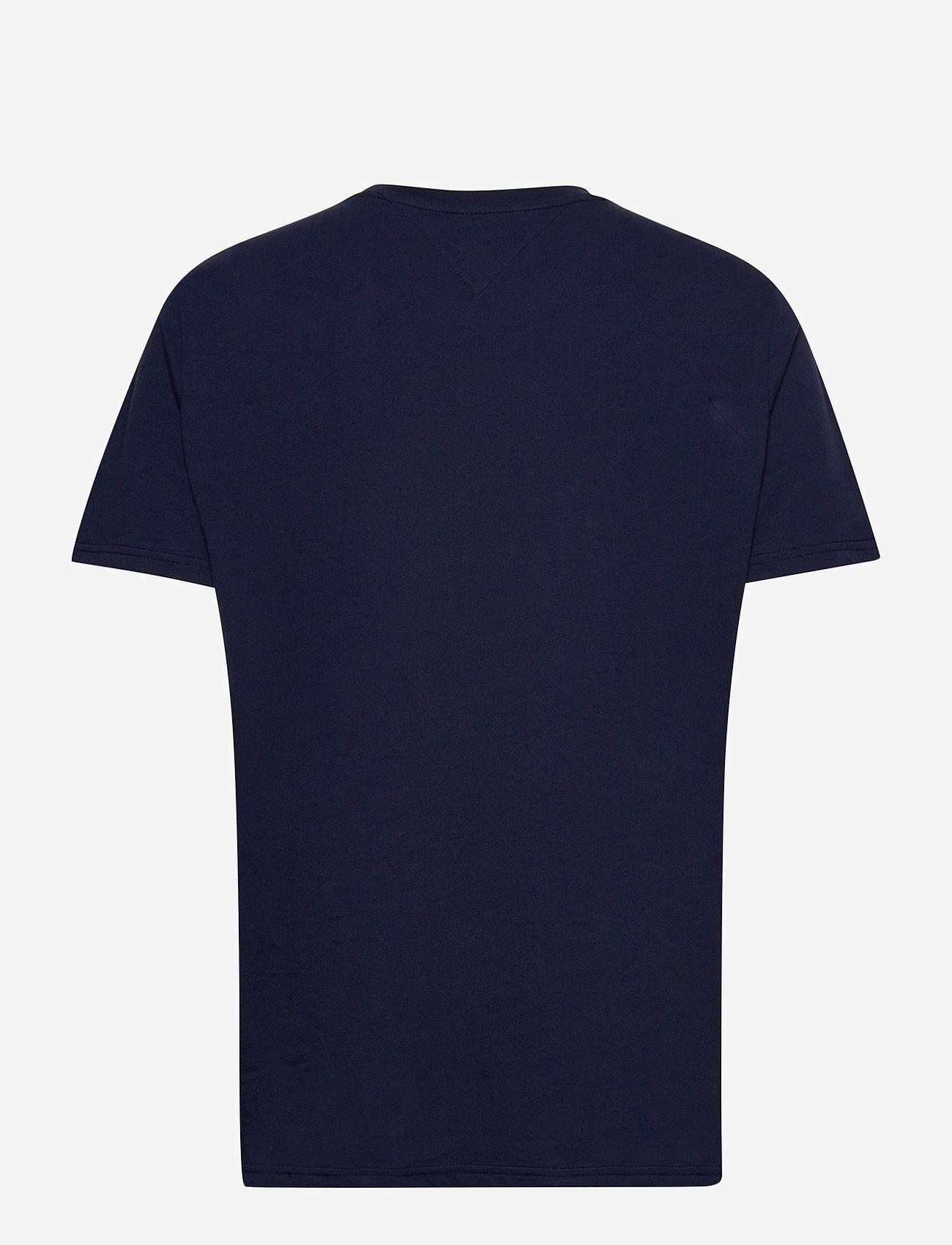 Tommy Jeans - TJM ESSENTIAL GRAPHIC TEE - kortärmade t-shirts - twilight navy - 1