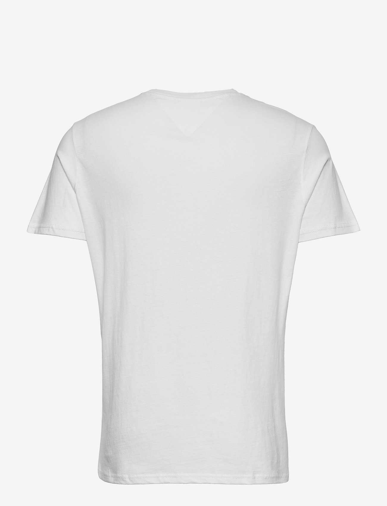 Tommy Jeans - TJM ESSENTIAL GRAPHIC TEE - kortärmade t-shirts - white - 1