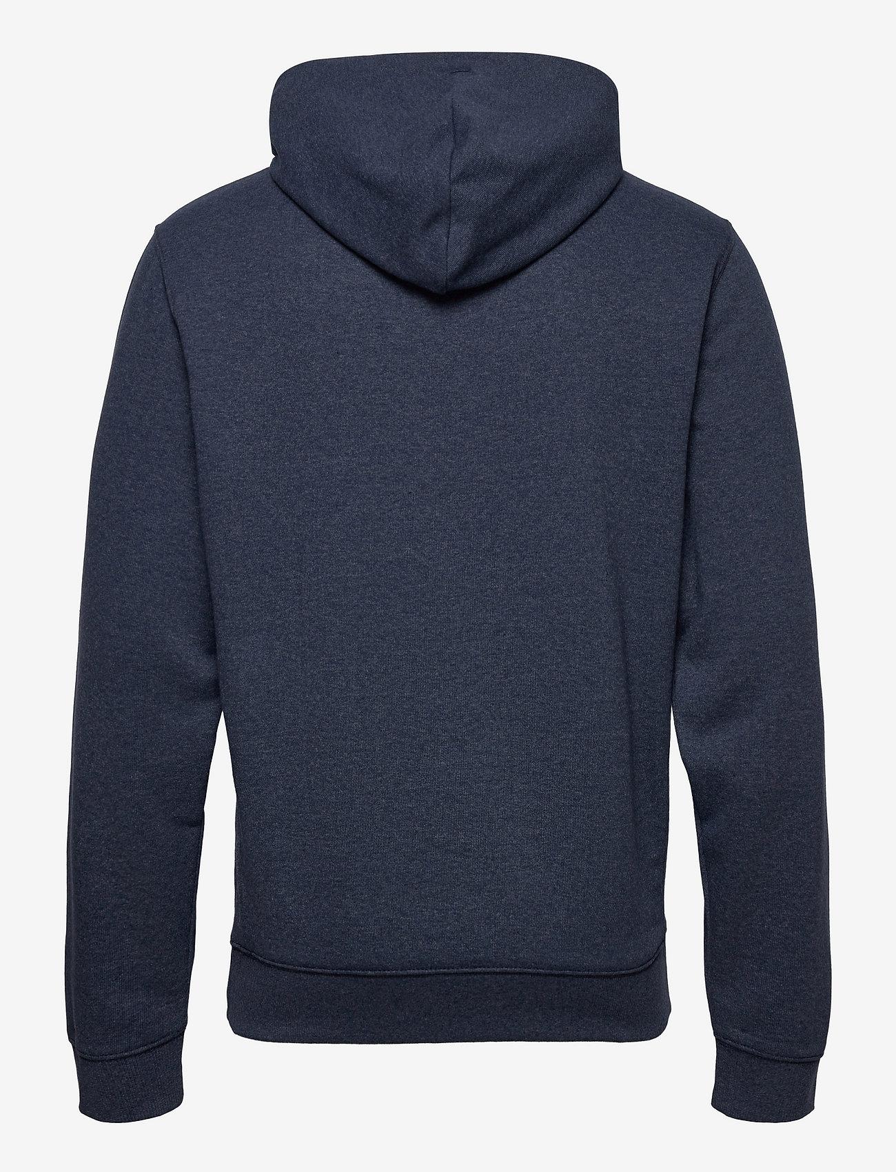 Tommy Jeans - TJM STRAIGHT LOGO HOODIE - hoodies - twilight navy - 1