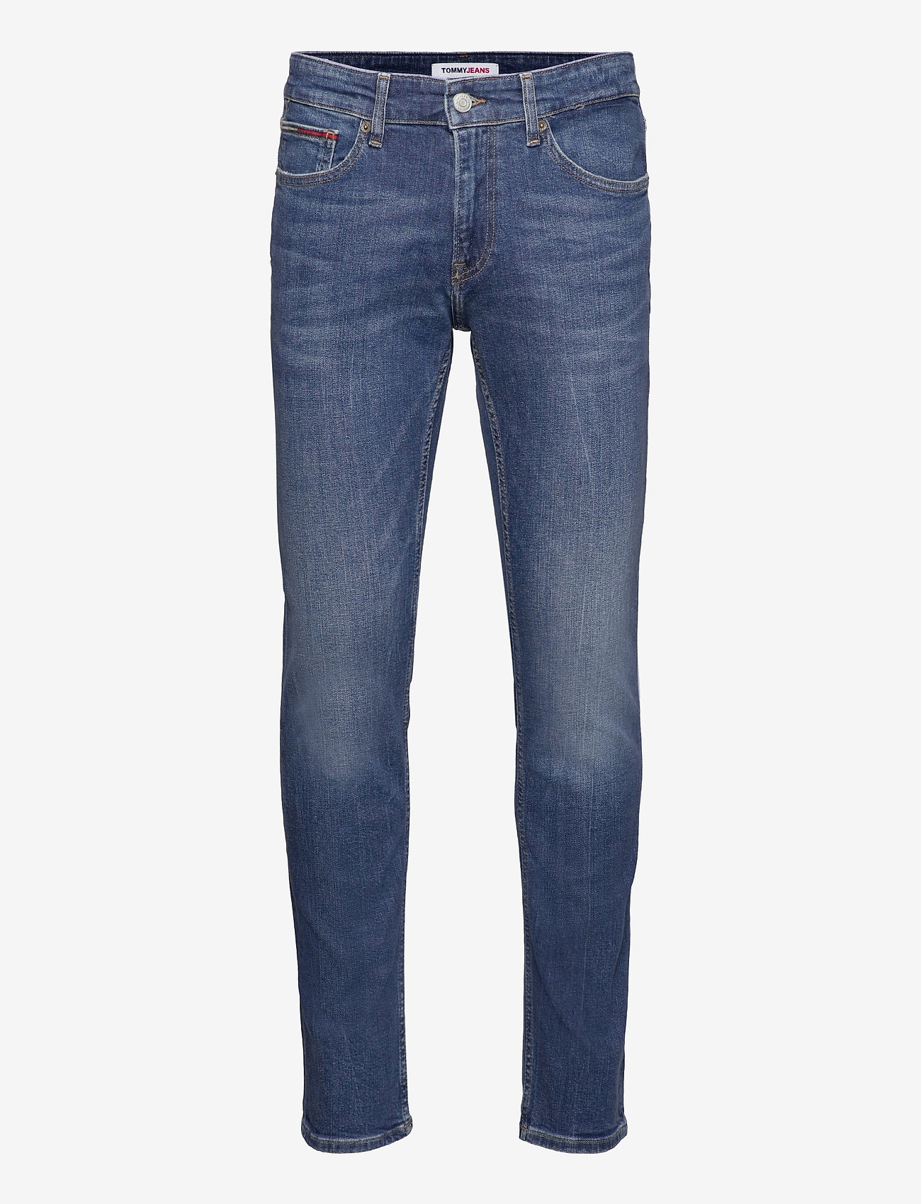 Tommy Jeans - SCANTON SLIM BE138 MBSTR - slim jeans - denim medium - 0