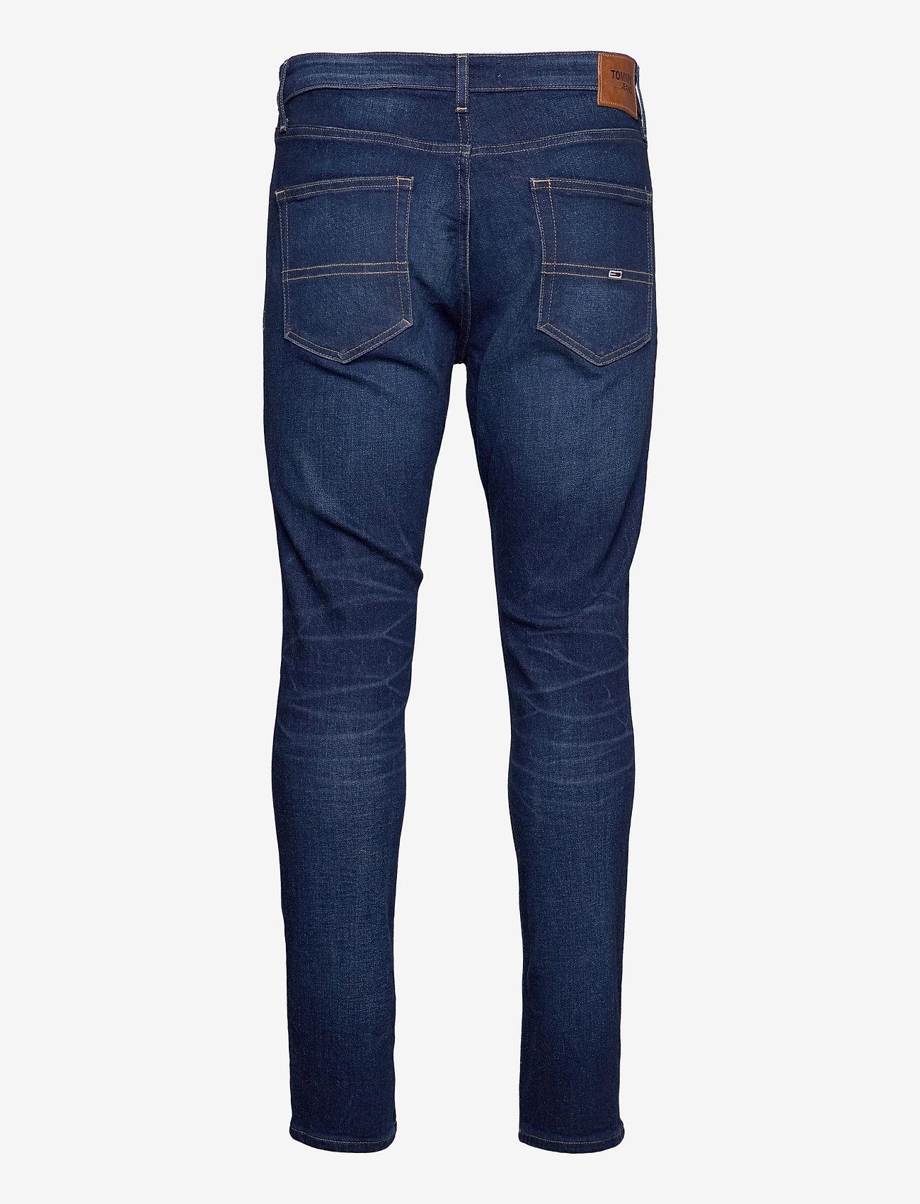 Tommy Jeans - AUSTIN SLIM TPRD BE159 DBSTR - slim jeans - denim dark - 1