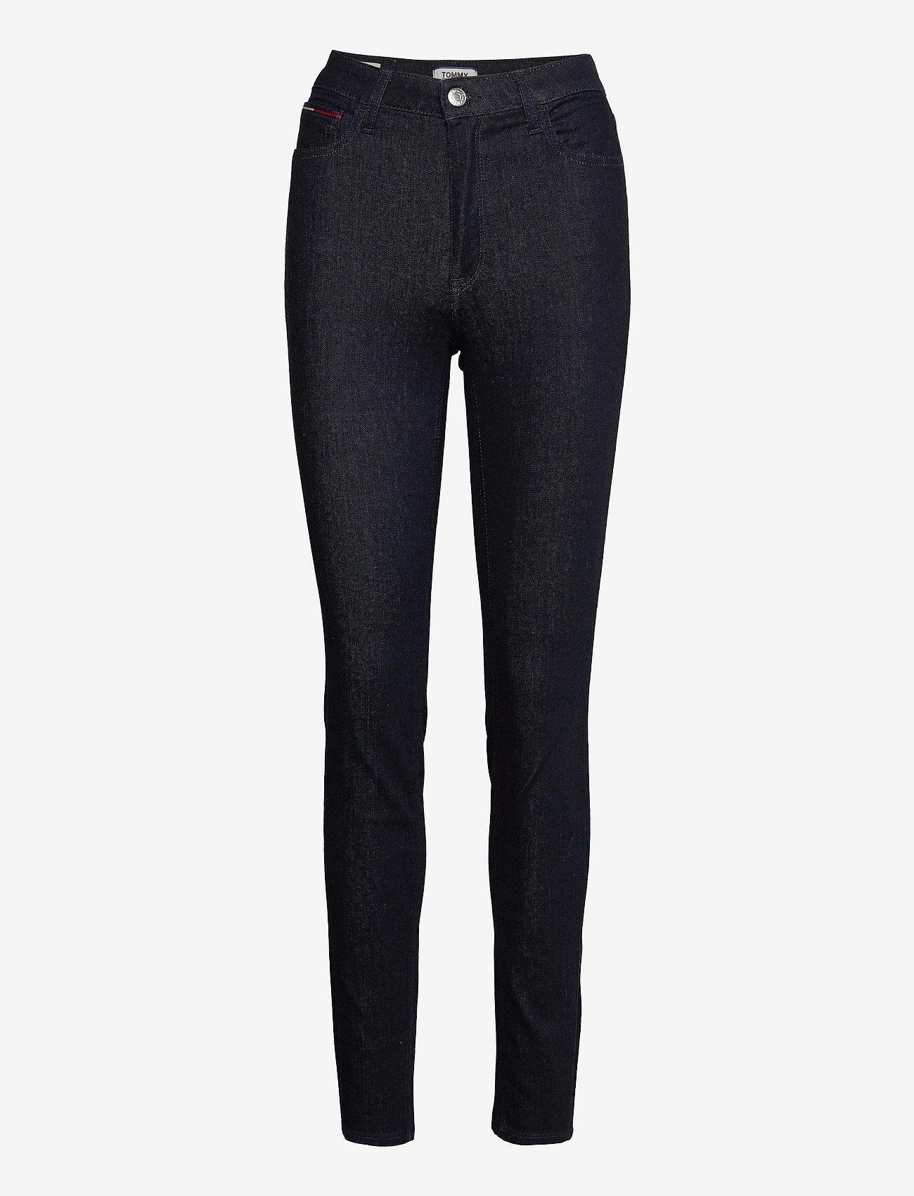 Tommy Jeans - HIGH RISE SKINNY SANTANA NRST - skinny jeans - new rinse stretch - 0
