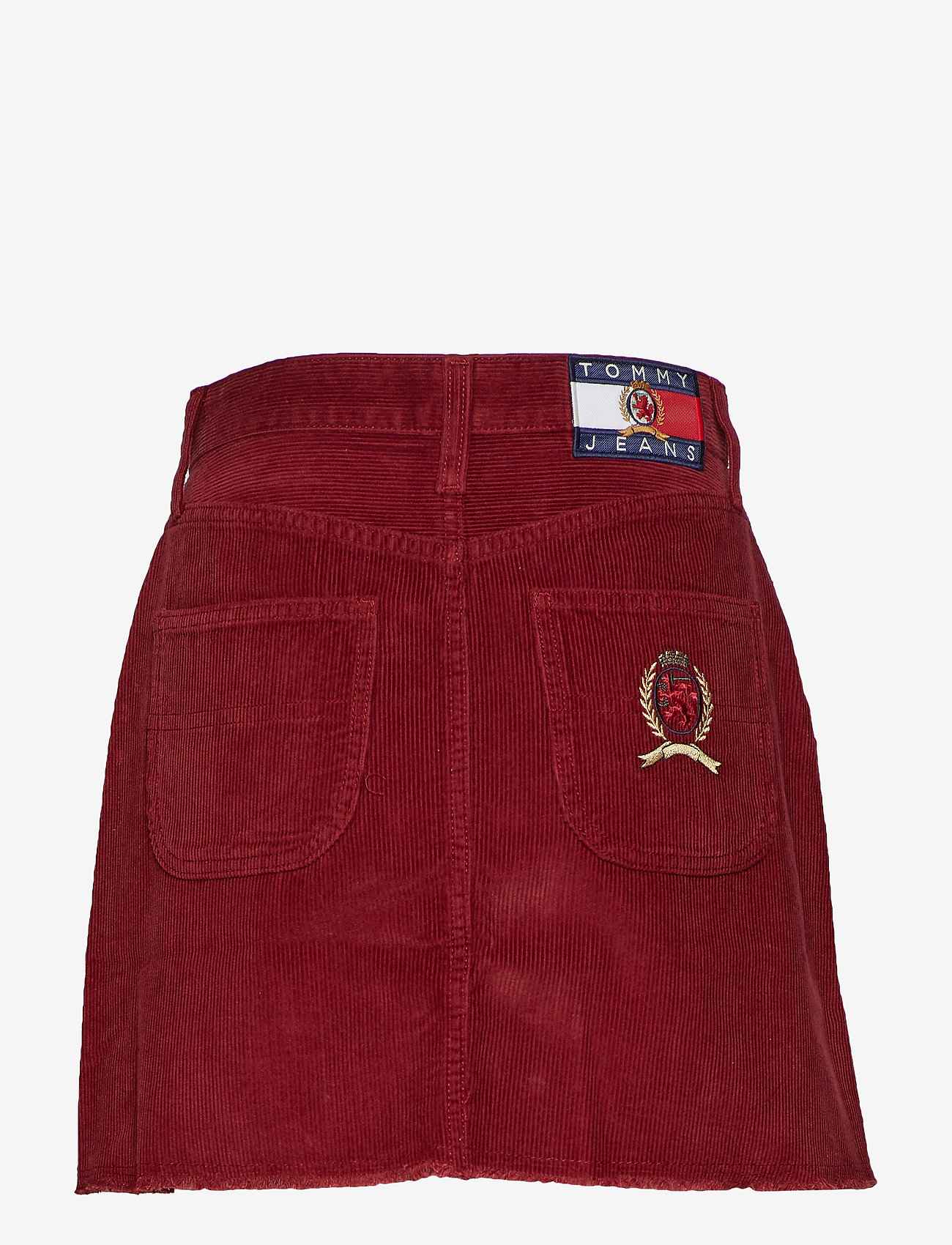 Tommy Jeans - TJW CREST SKIRT W17, - korta kjolar - cabernet - 1