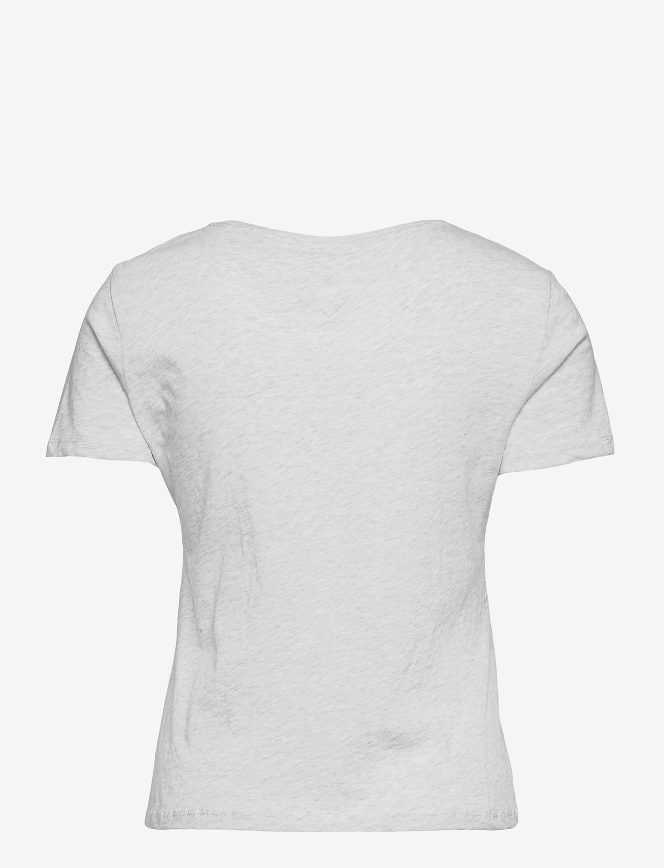 Tommy Jeans - TJW SOFT JERSEY TEE - t-shirts - silver grey htr - 1